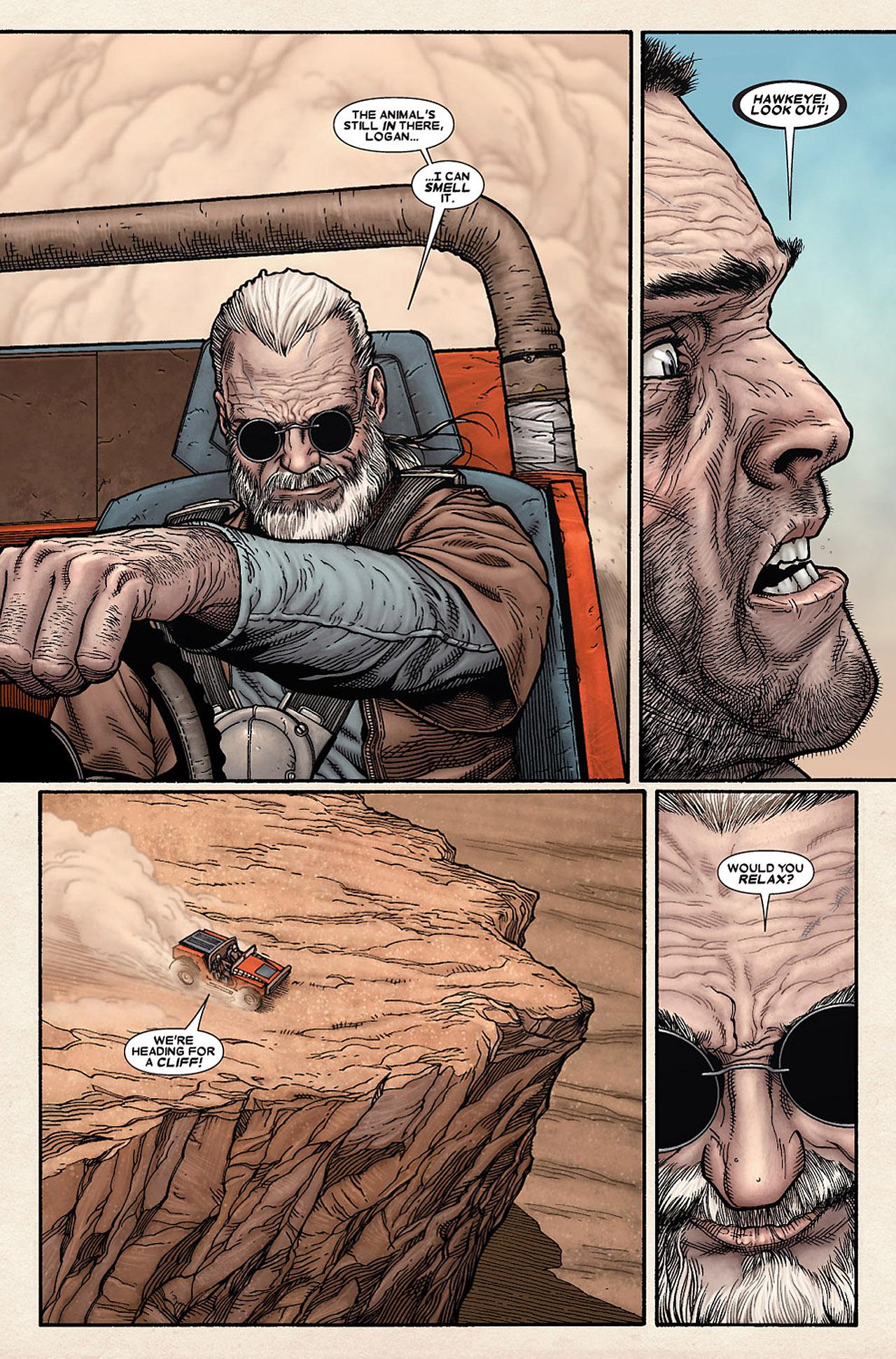 Read online Wolverine: Old Man Logan comic -  Issue # Full - 28
