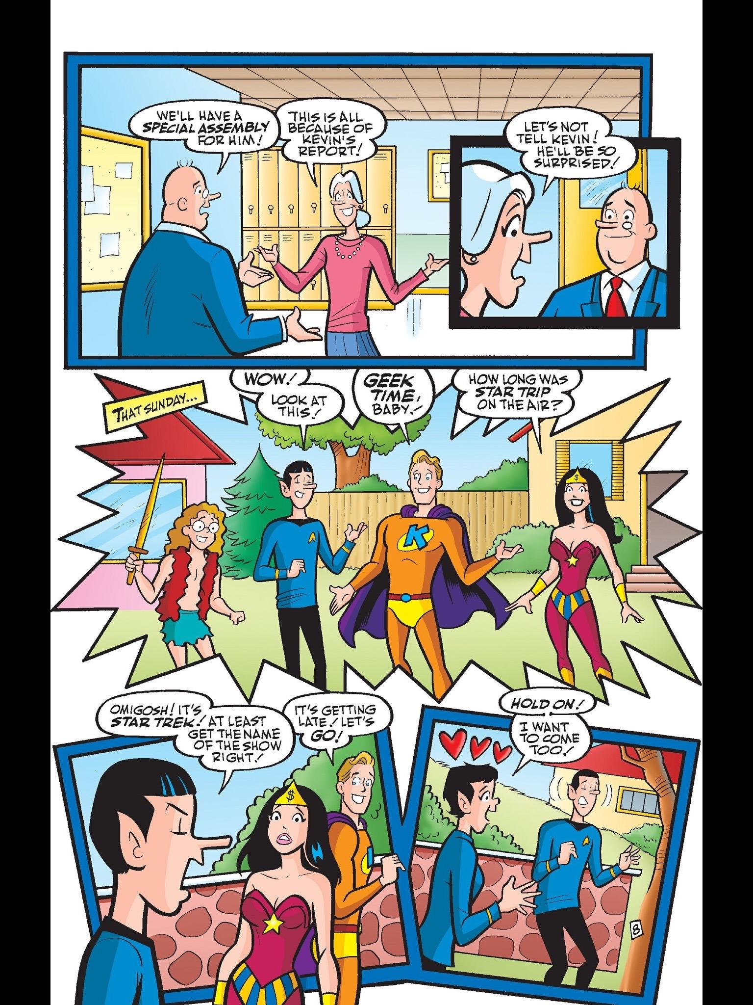 Read online Kevin Keller comic -  Issue #6 - 9