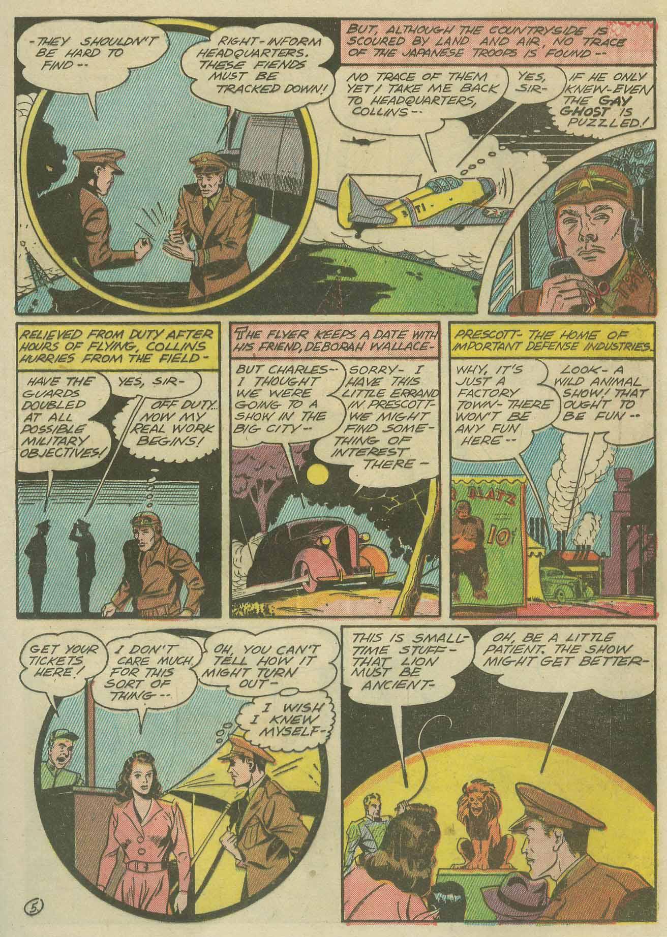 Read online Sensation (Mystery) Comics comic -  Issue #9 - 41