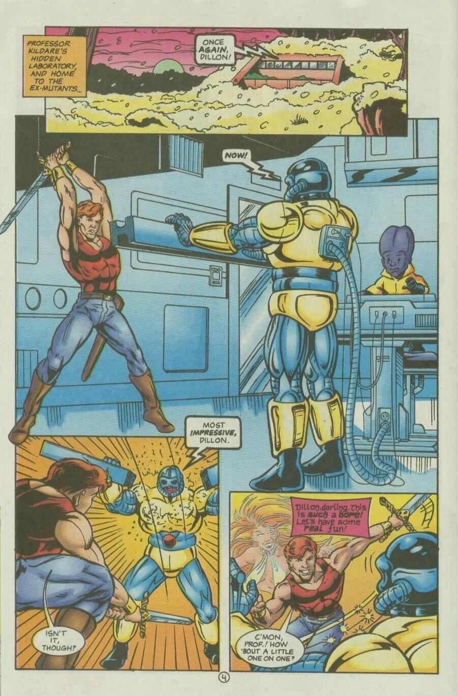 Read online Ex-Mutants comic -  Issue #10 - 6