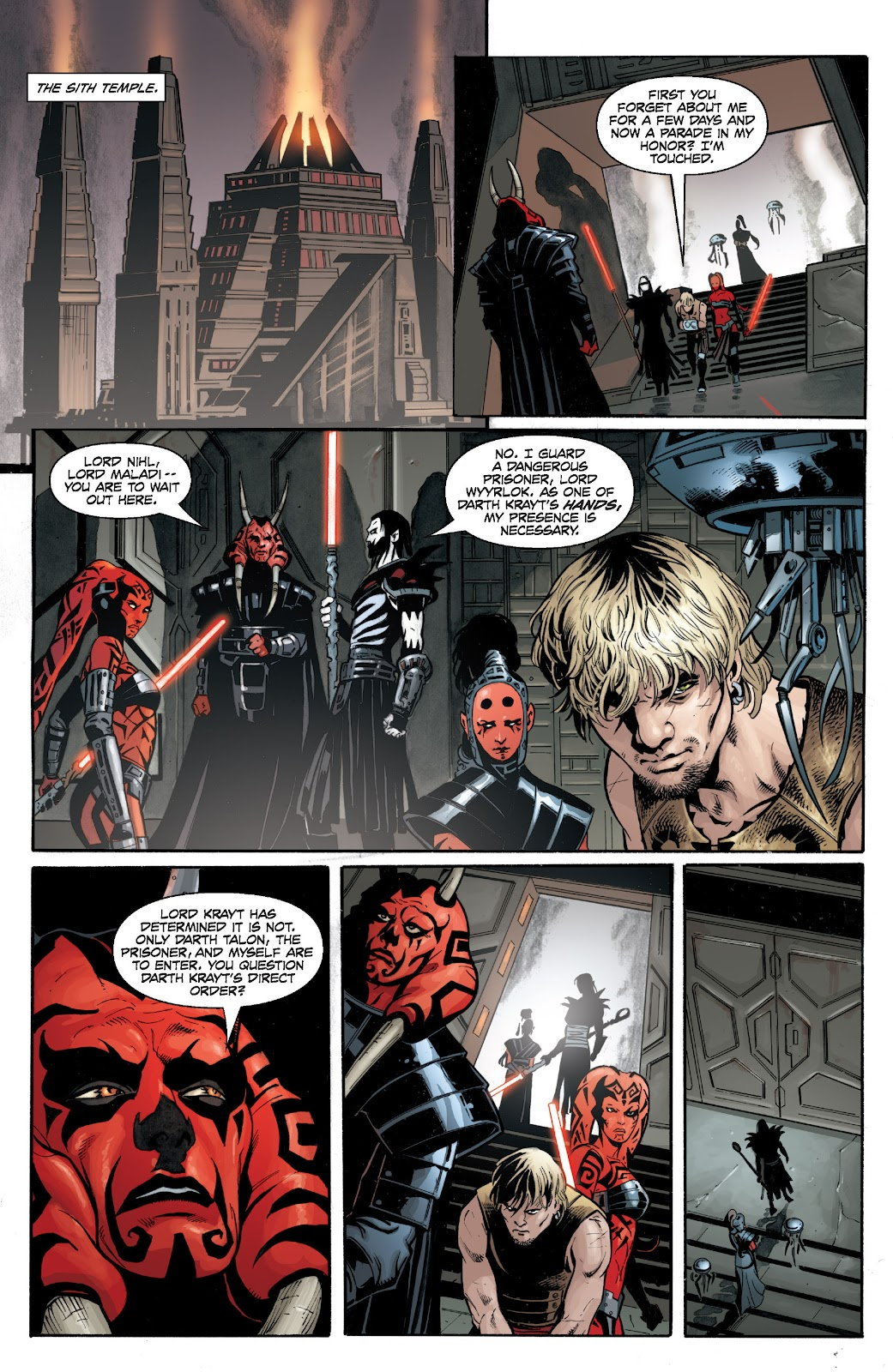 Read online Star Wars Legends: Legacy - Epic Collection comic -  Issue # TPB 1 (Part 4) - 62