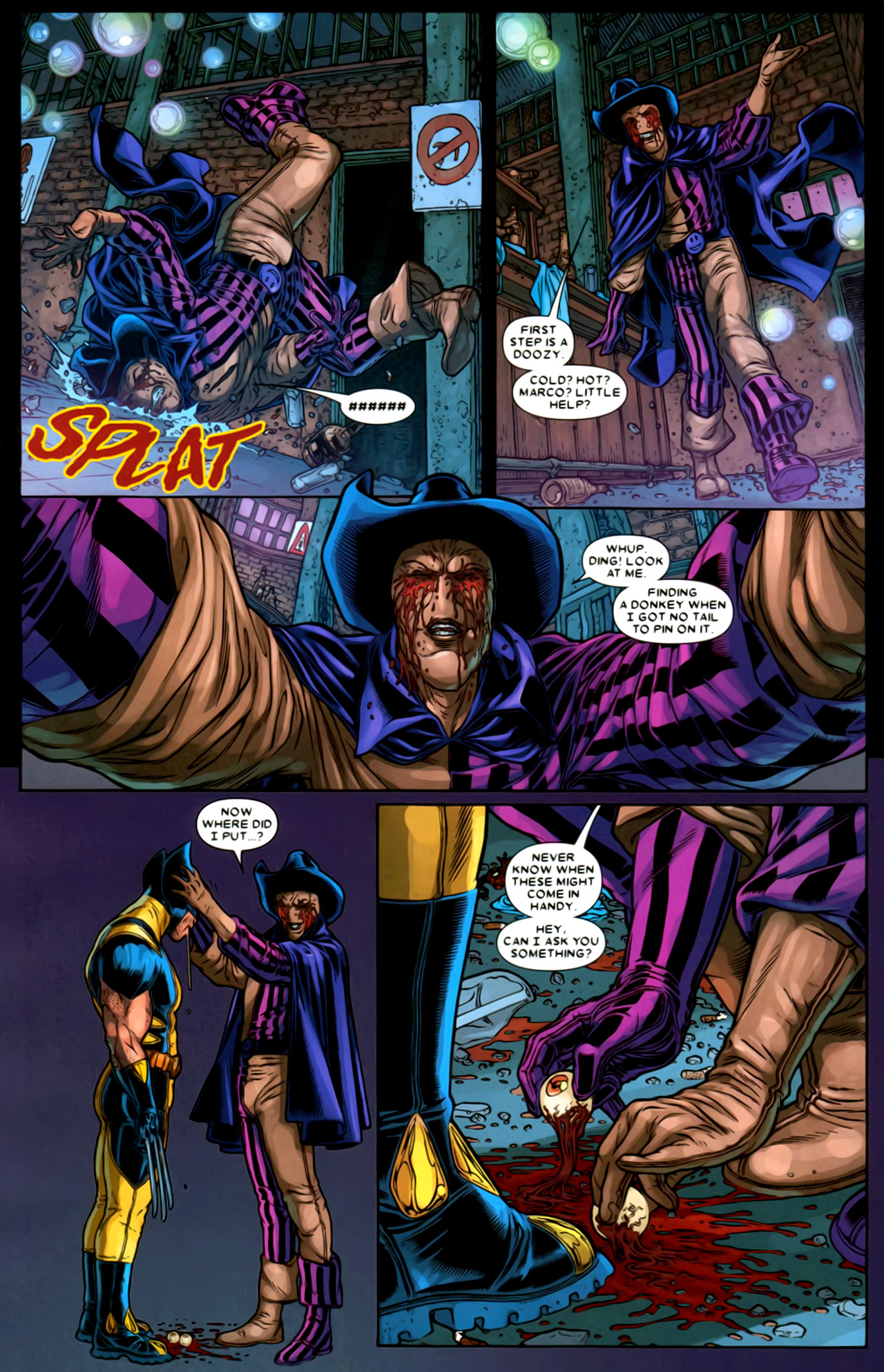 Read online Wolverine: The Best There Is comic -  Issue #2 - 12