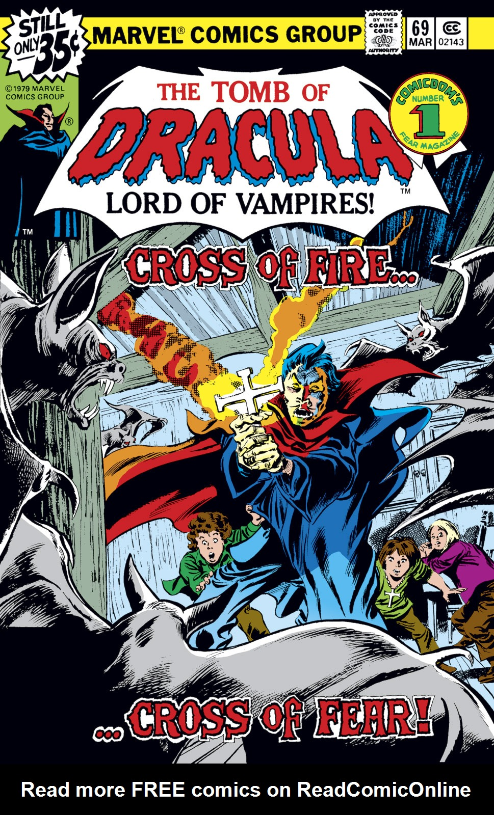 Tomb of Dracula (1972) issue 69 - Page 1