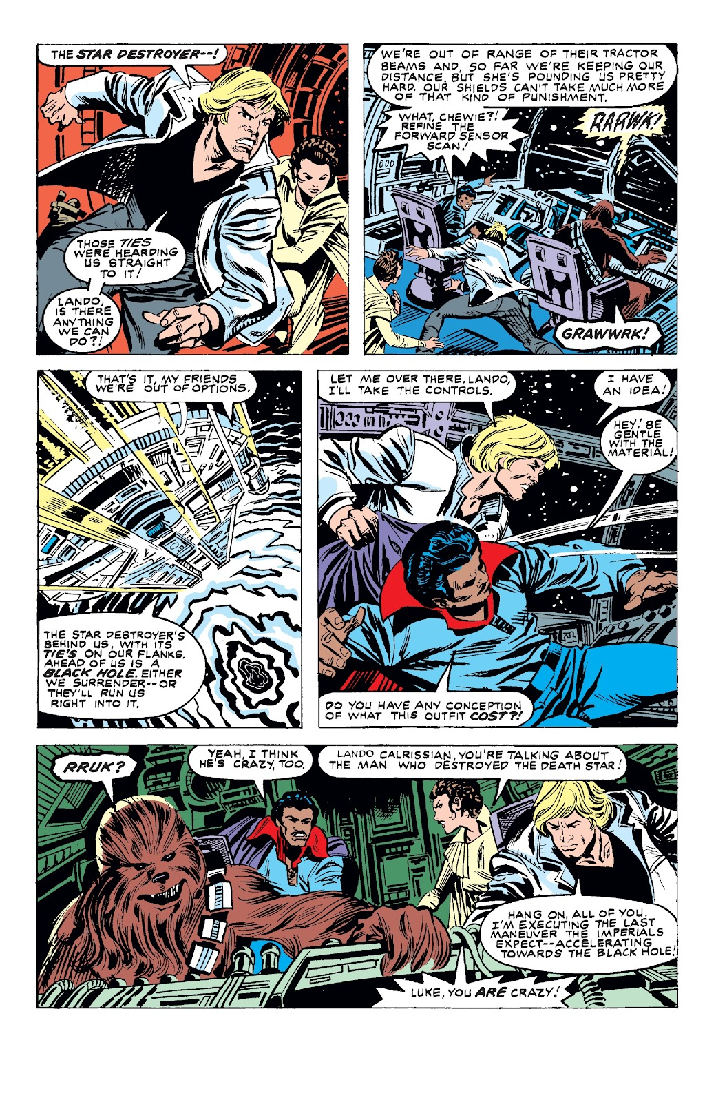 Read online Star Wars Legends: The Original Marvel Years - Epic Collection comic -  Issue # TPB 3 (Part 4) - 53