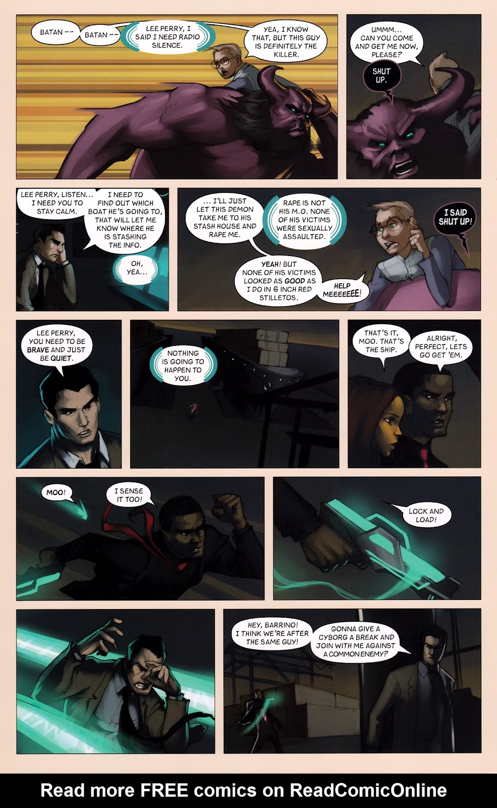 Read online Vescell comic -  Issue #6 - 22