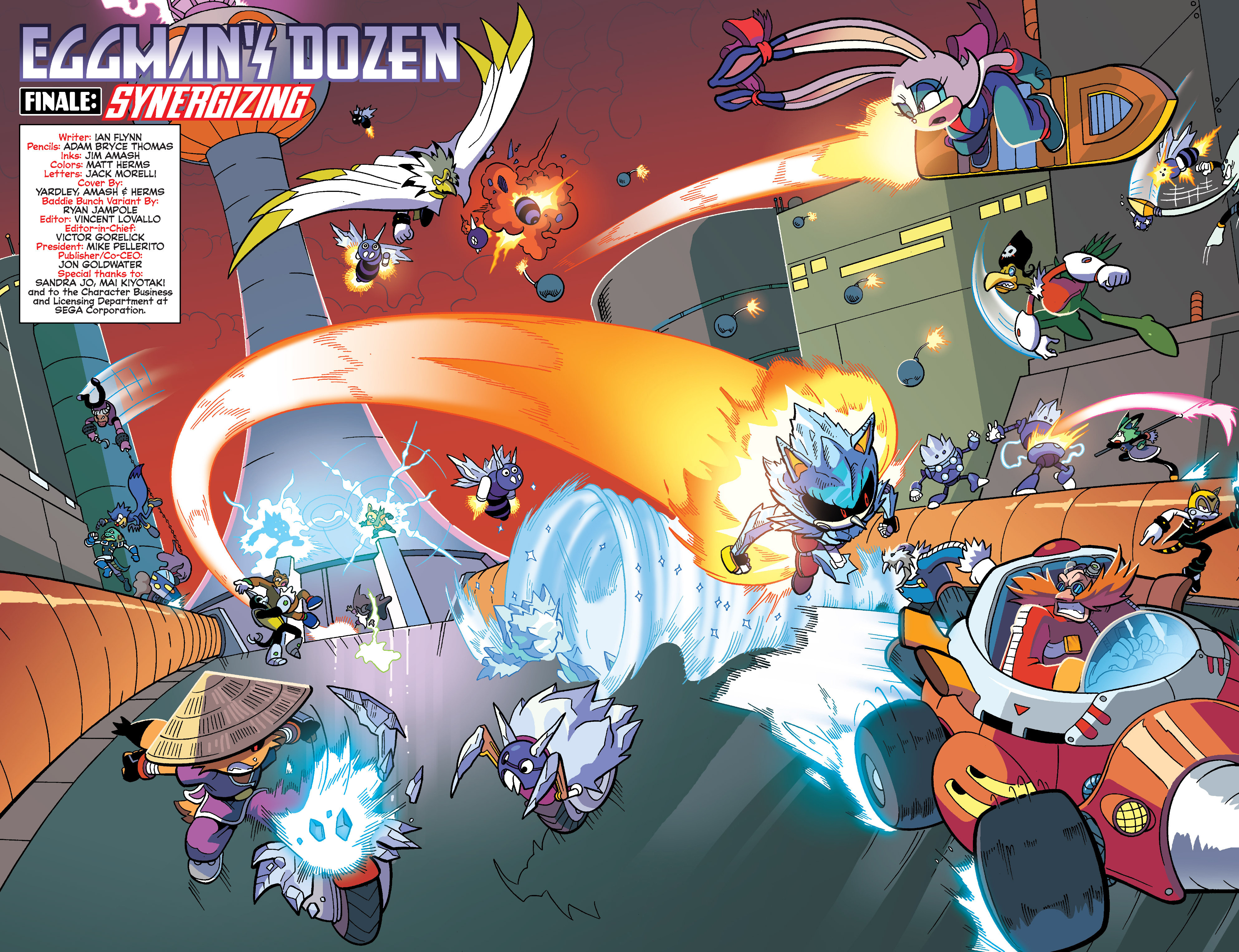 Read online Sonic Universe comic -  Issue #86 - 4