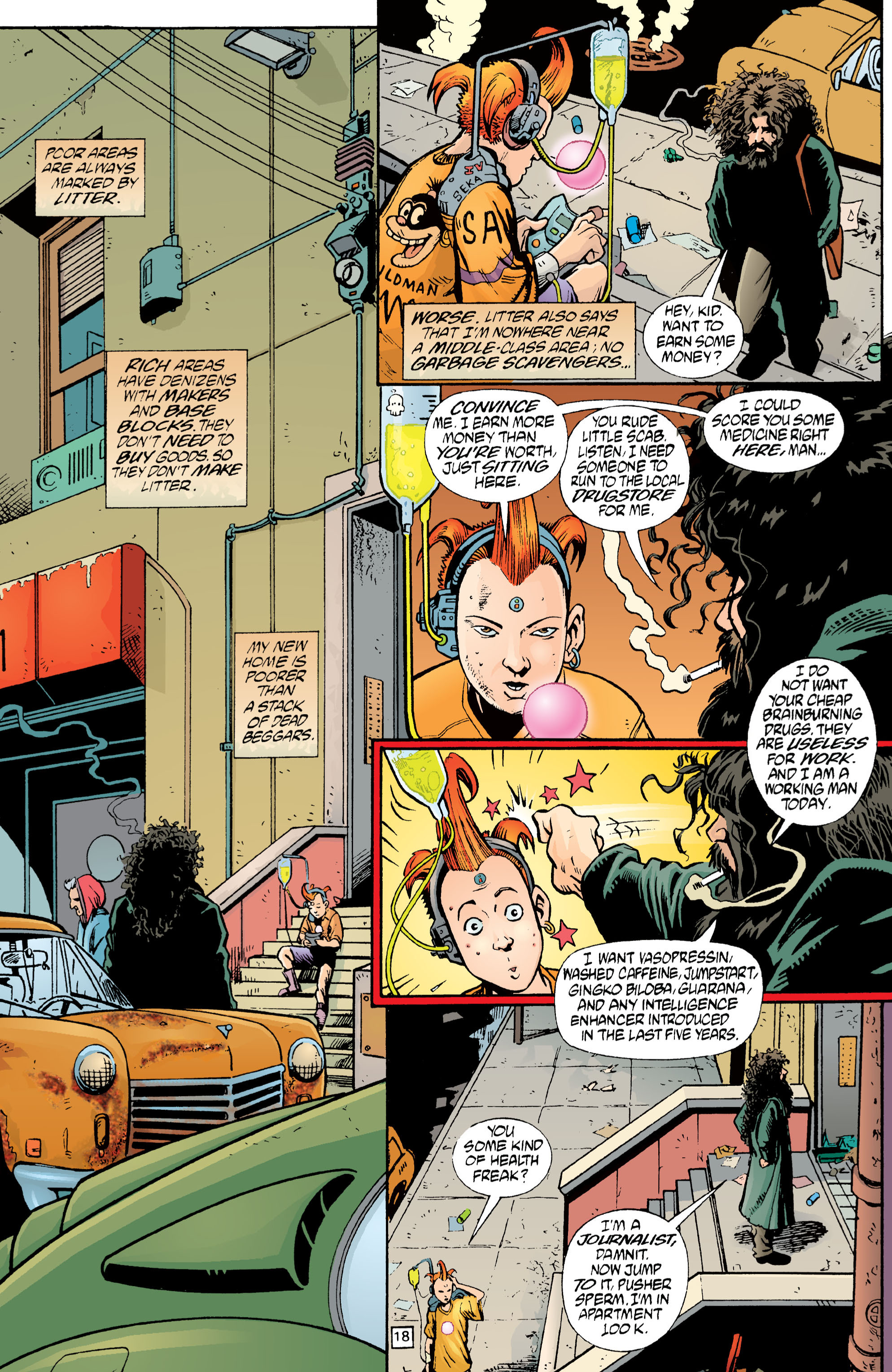 Read online Transmetropolitan comic -  Issue #1 - 19