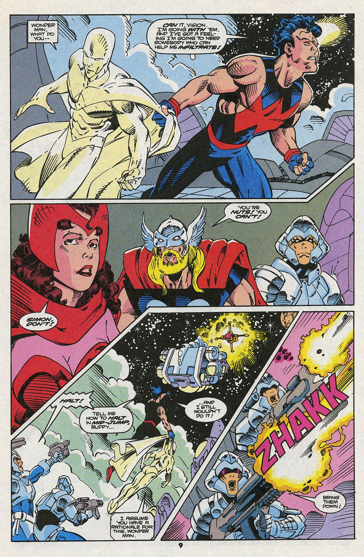 Read online Wonder Man (1991) comic -  Issue #8 - 7
