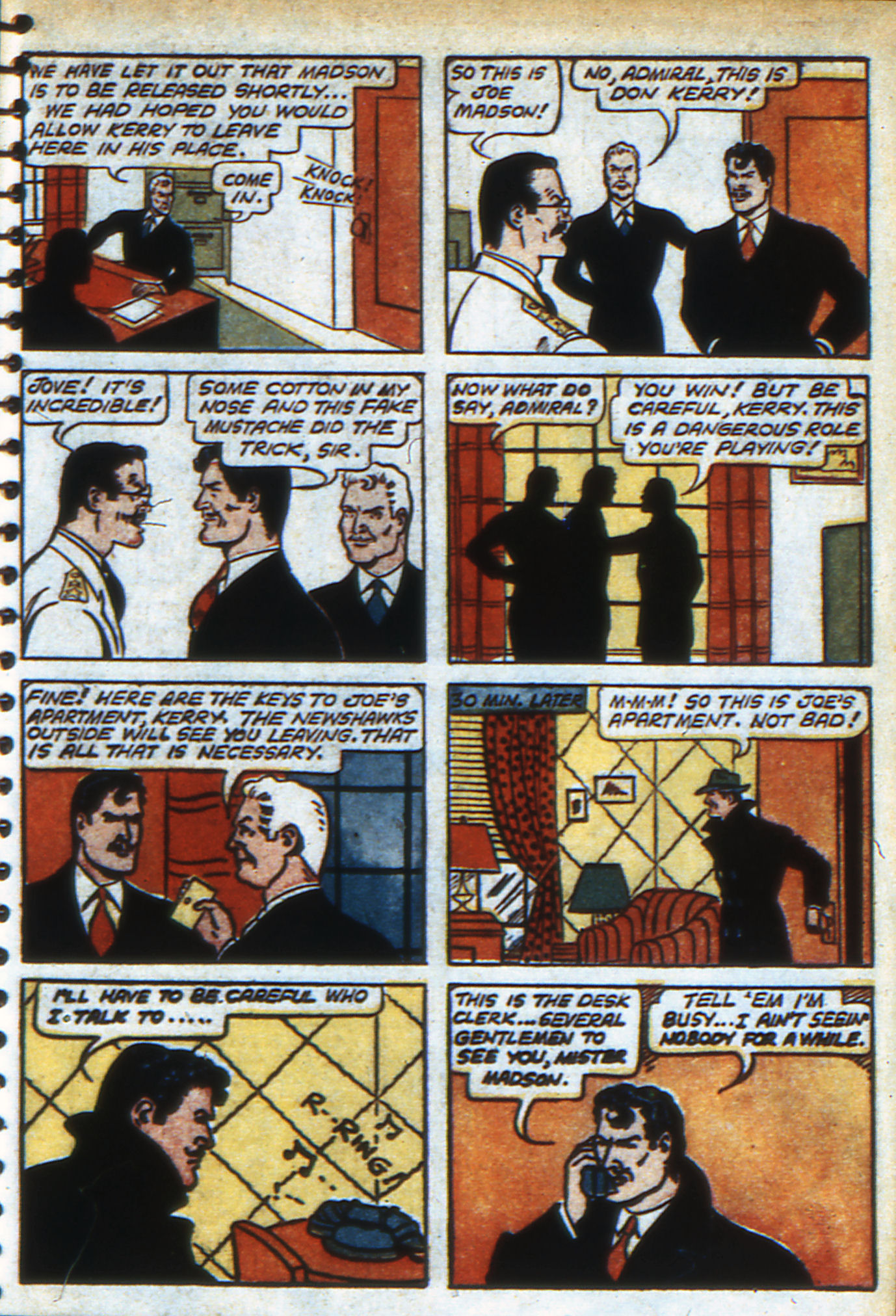 Read online Adventure Comics (1938) comic -  Issue #48 - 56