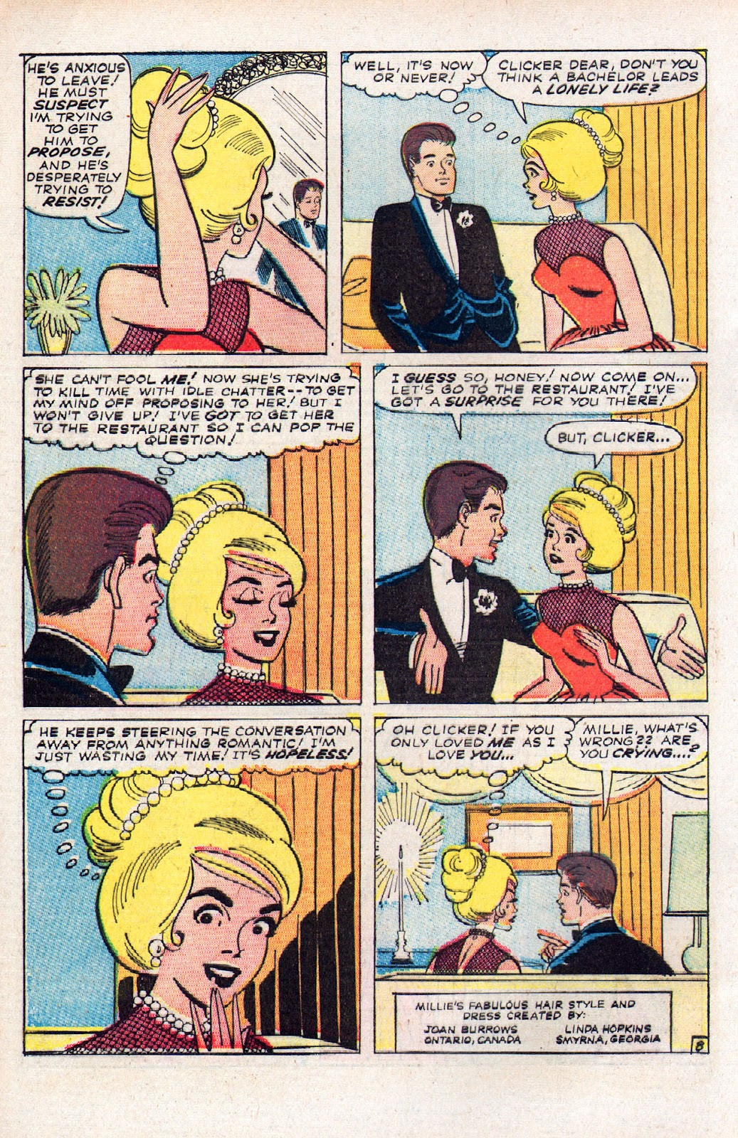 Read online Millie the Model comic -  Issue # Annual 2 - 10
