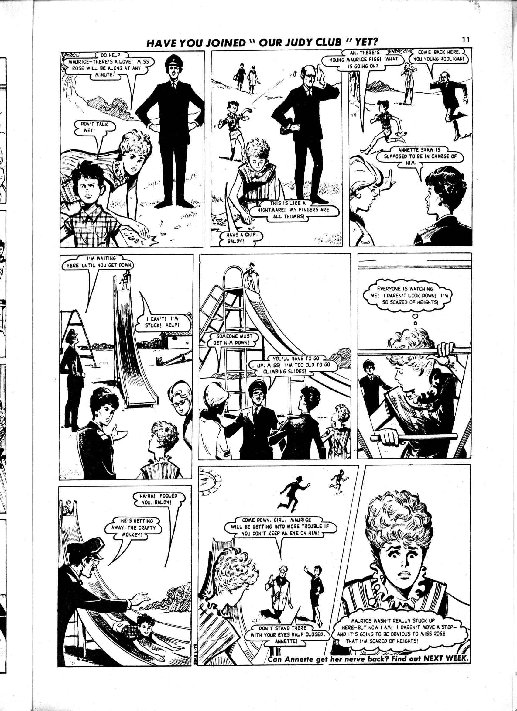 Read online Judy comic -  Issue #1034 - 11