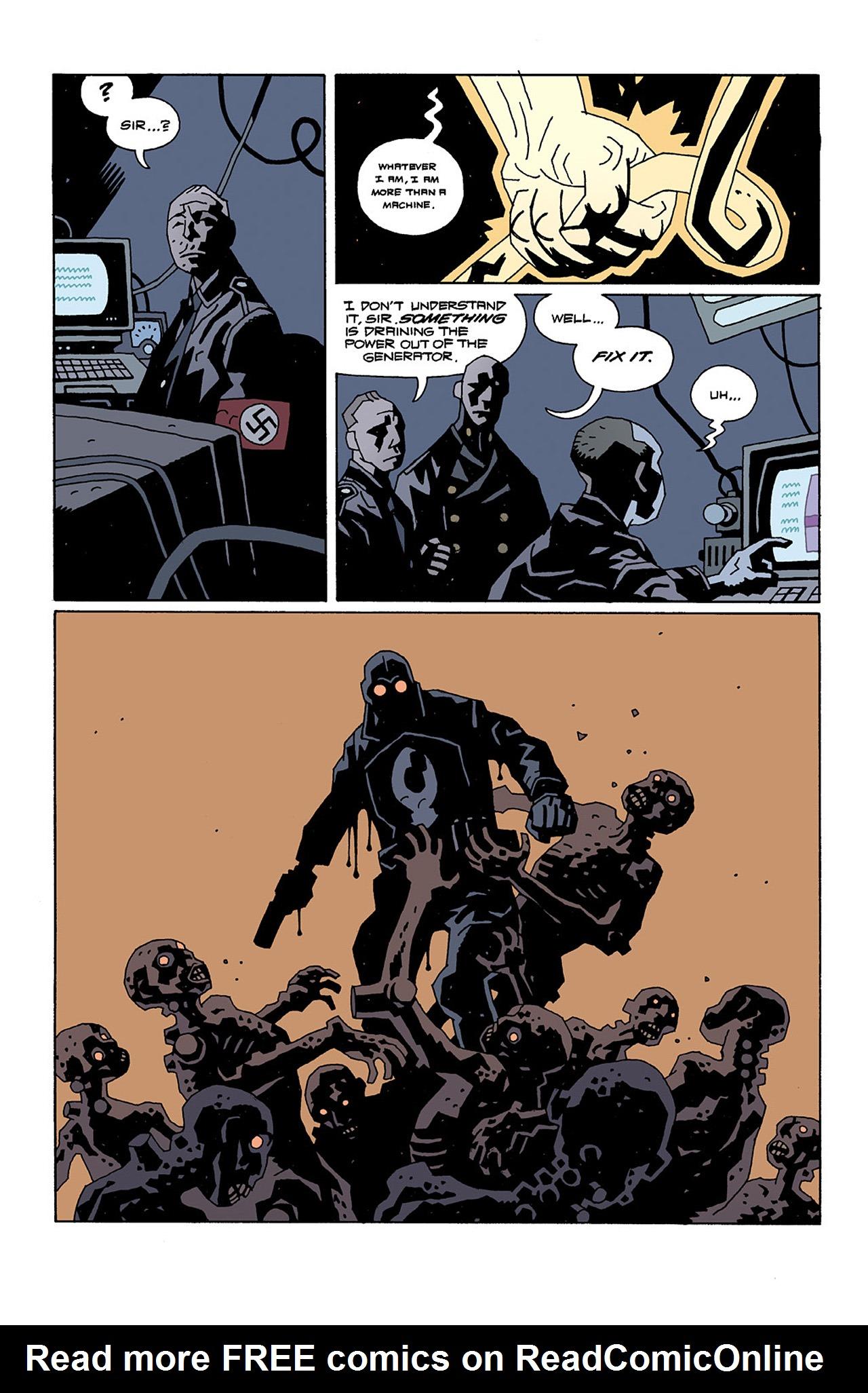 Read online Hellboy: Conqueror Worm comic -  Issue #2 - 20