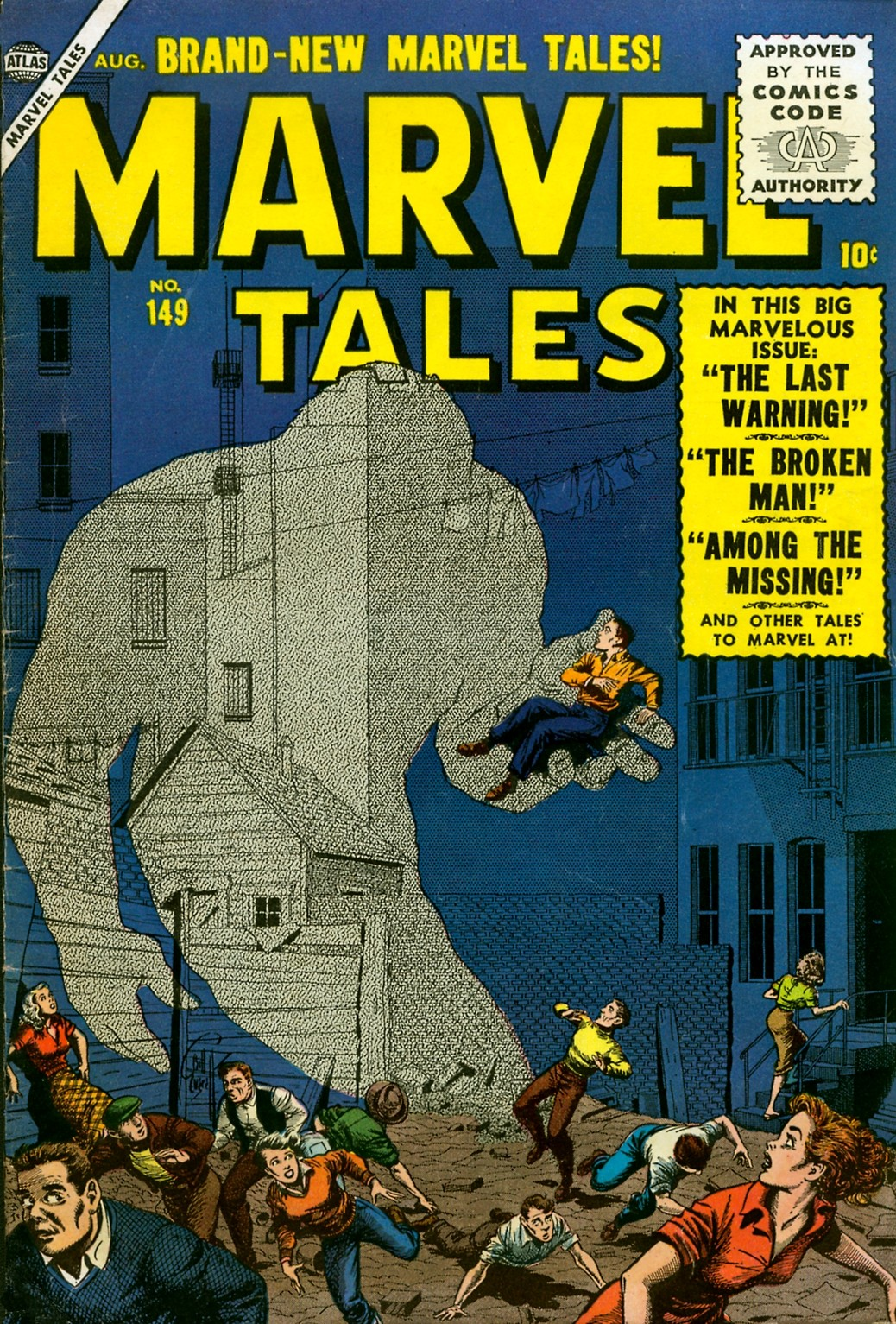 Marvel Tales (1949) 149 Page 1