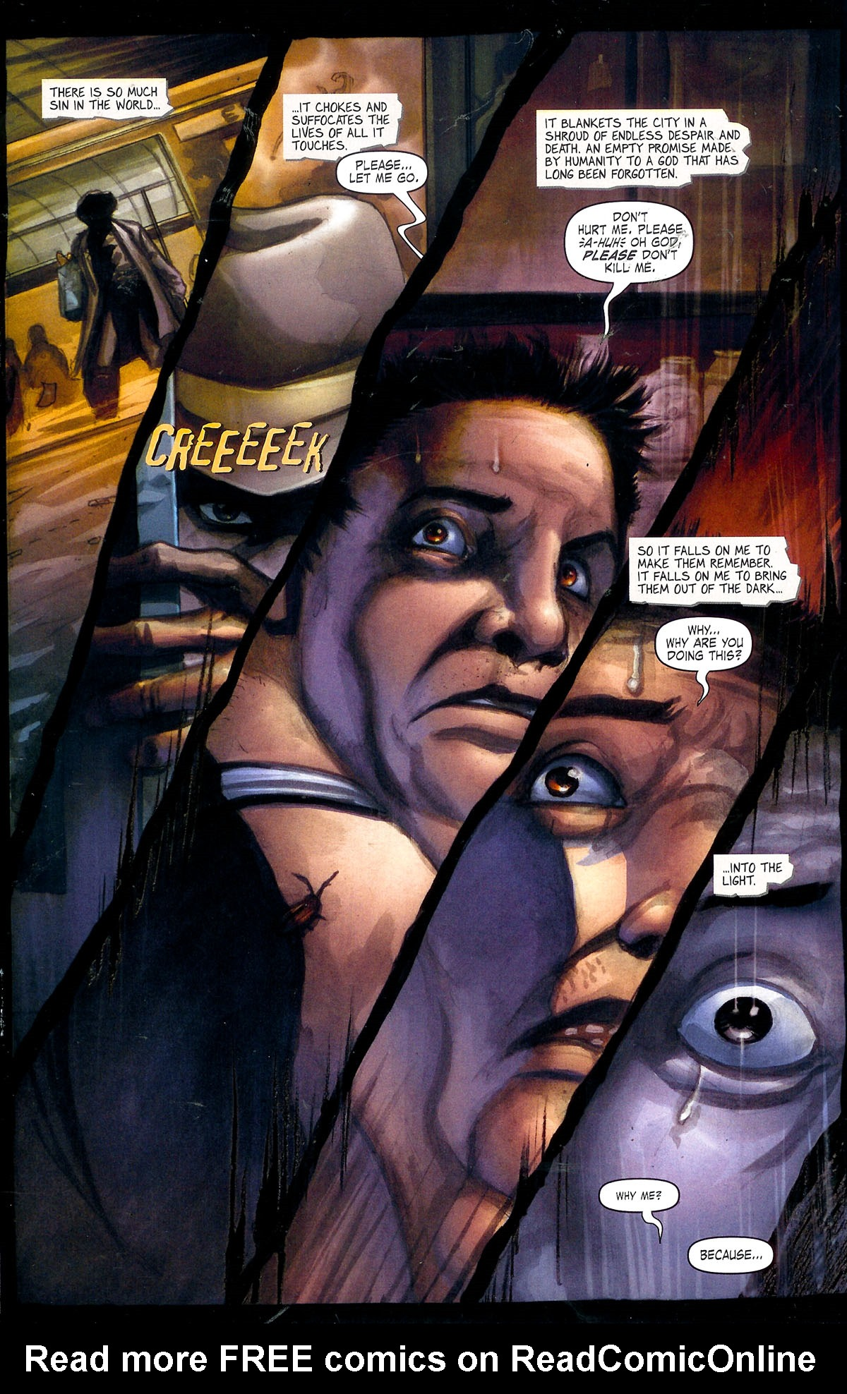 Read online Se7en comic -  Issue #1 - 6