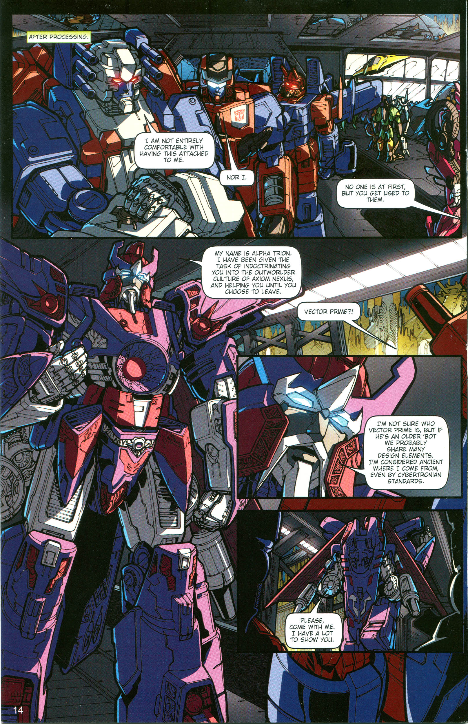 Read online Transformers: Collectors' Club comic -  Issue #19 - 14
