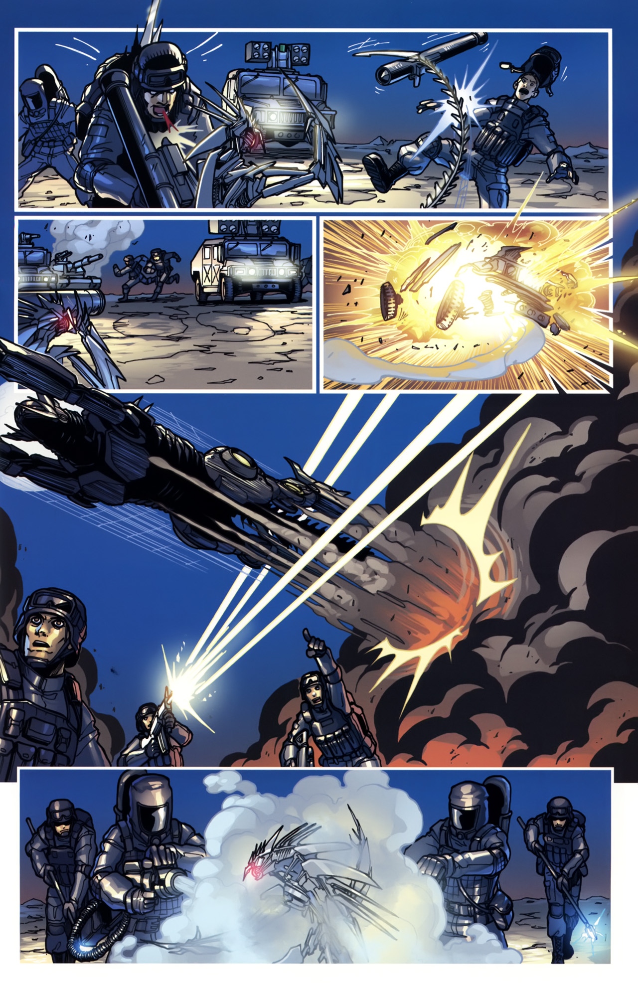 Read online Transformers: Tales of The Fallen comic -  Issue #5 - 17