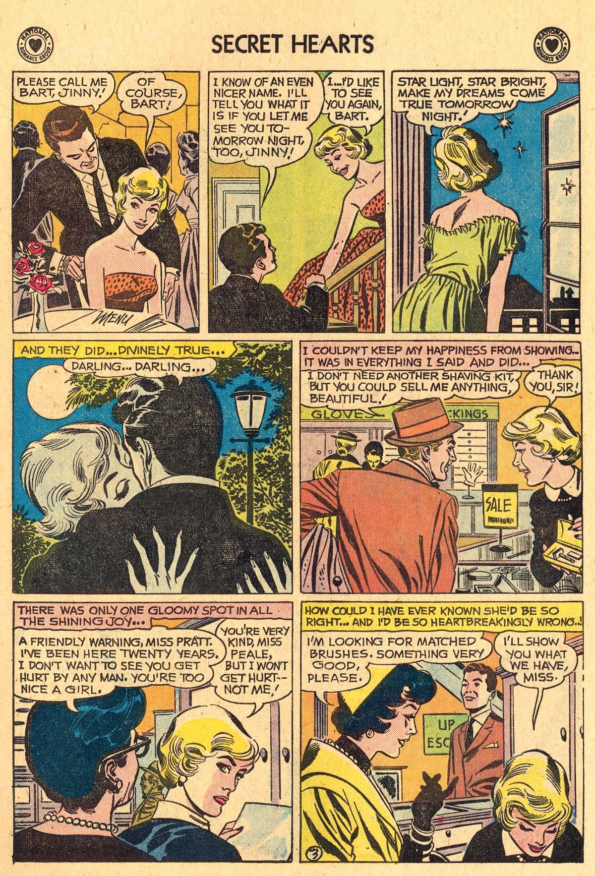 Read online Secret Hearts comic -  Issue #60 - 5