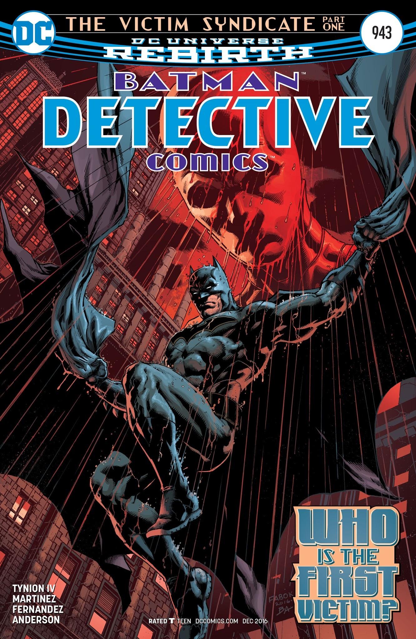 Detective Comics (1937) 943 Page 1