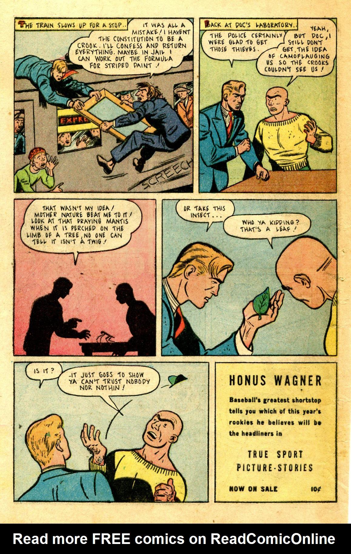 Read online Shadow Comics comic -  Issue #43 - 50