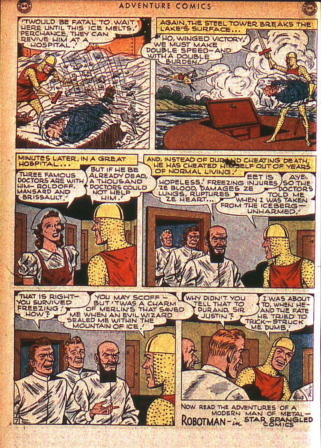 Read online Adventure Comics (1938) comic -  Issue #125 - 39