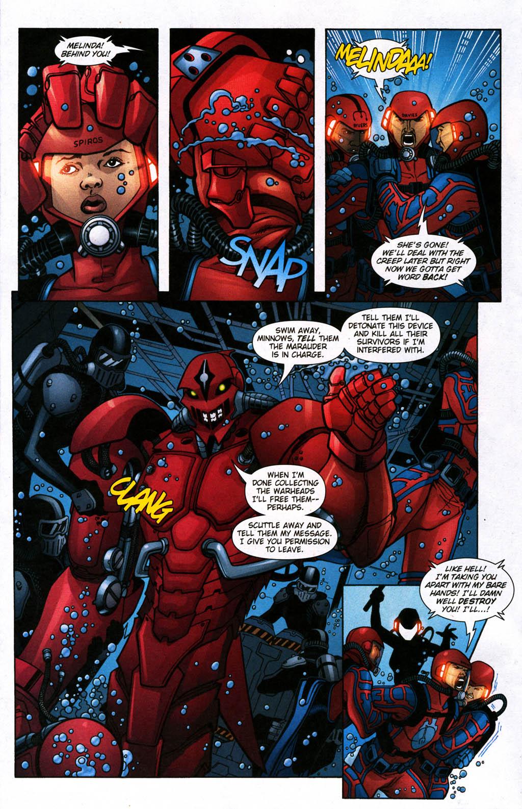 Read online Aquaman (2003) comic -  Issue #24 - 7