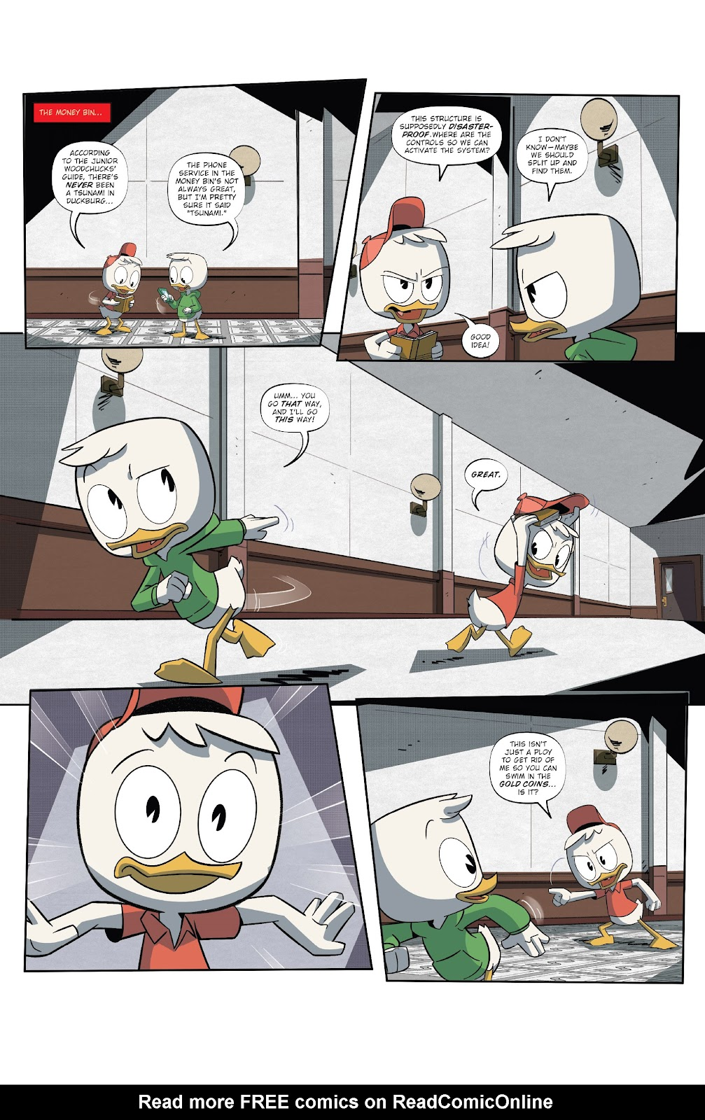 Read online Ducktales (2017) comic -  Issue #18 - 14