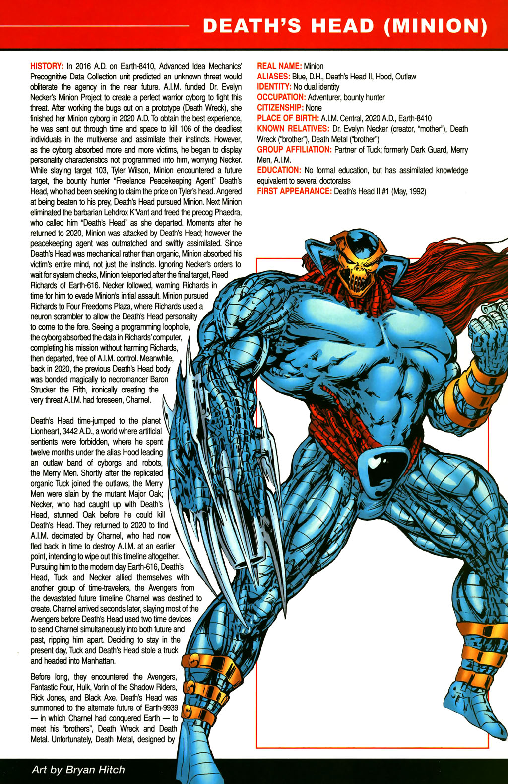 Read online All-New Official Handbook of the Marvel Universe A to Z comic -  Issue #3 - 35