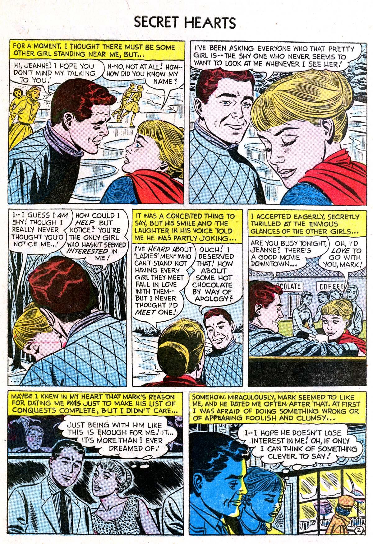 Read online Secret Hearts comic -  Issue #38 - 4