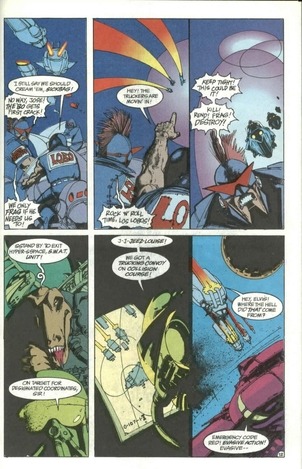 Read online Lobo (1990) comic -  Issue #4 - 13