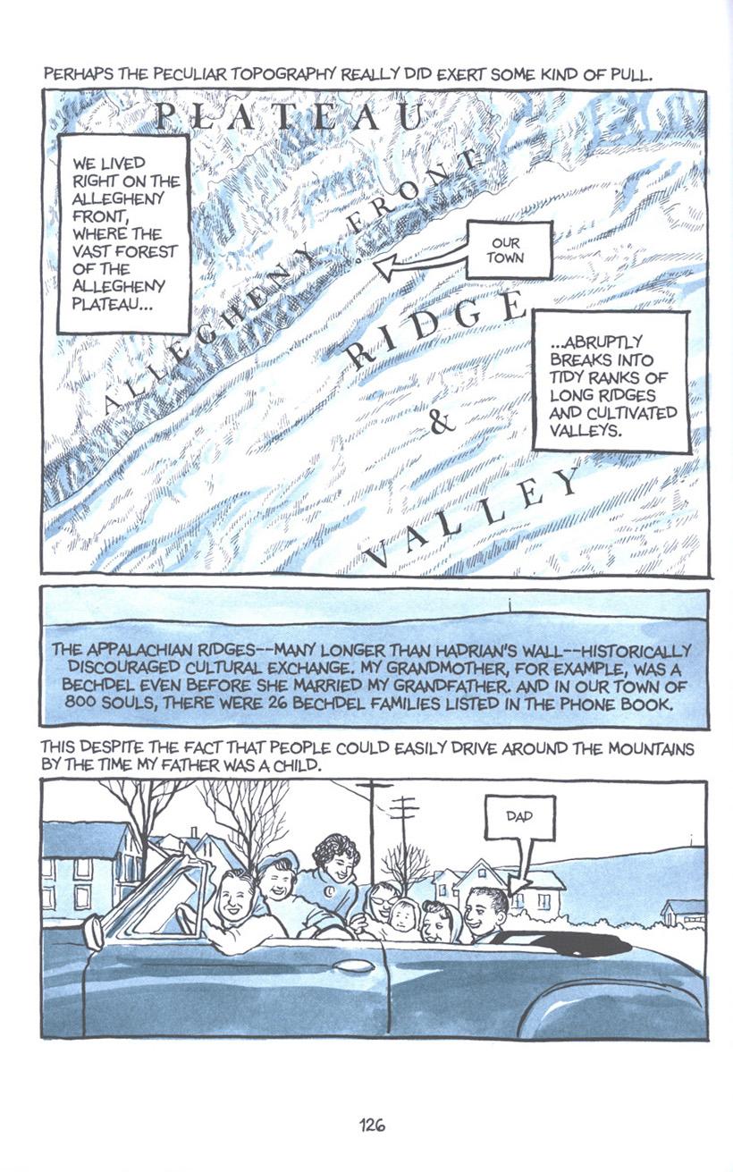 Read online Fun Home: A Family Tragicomic comic -  Issue # TPB - 132