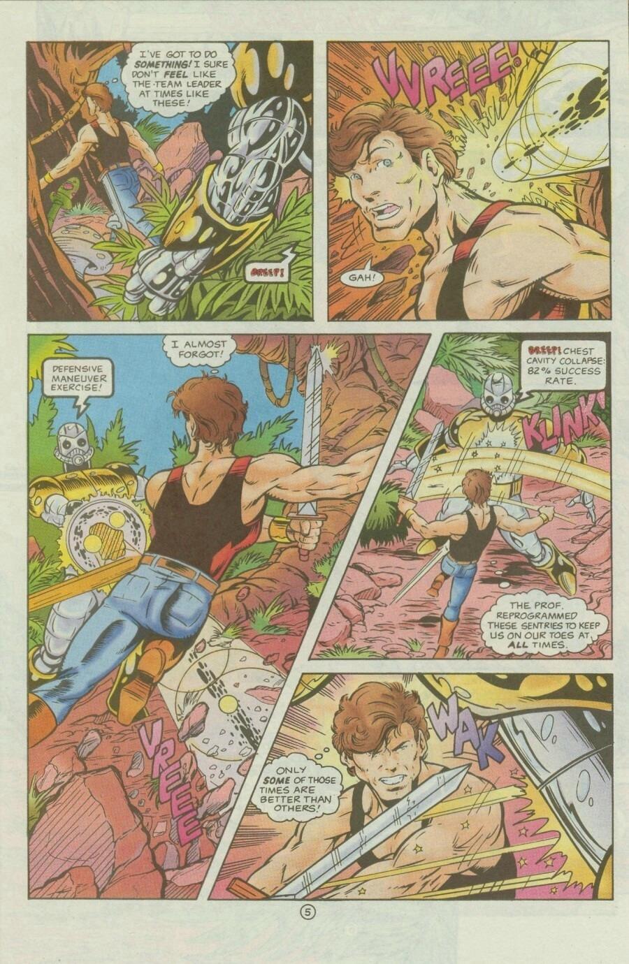 Read online Ex-Mutants comic -  Issue #9 - 7