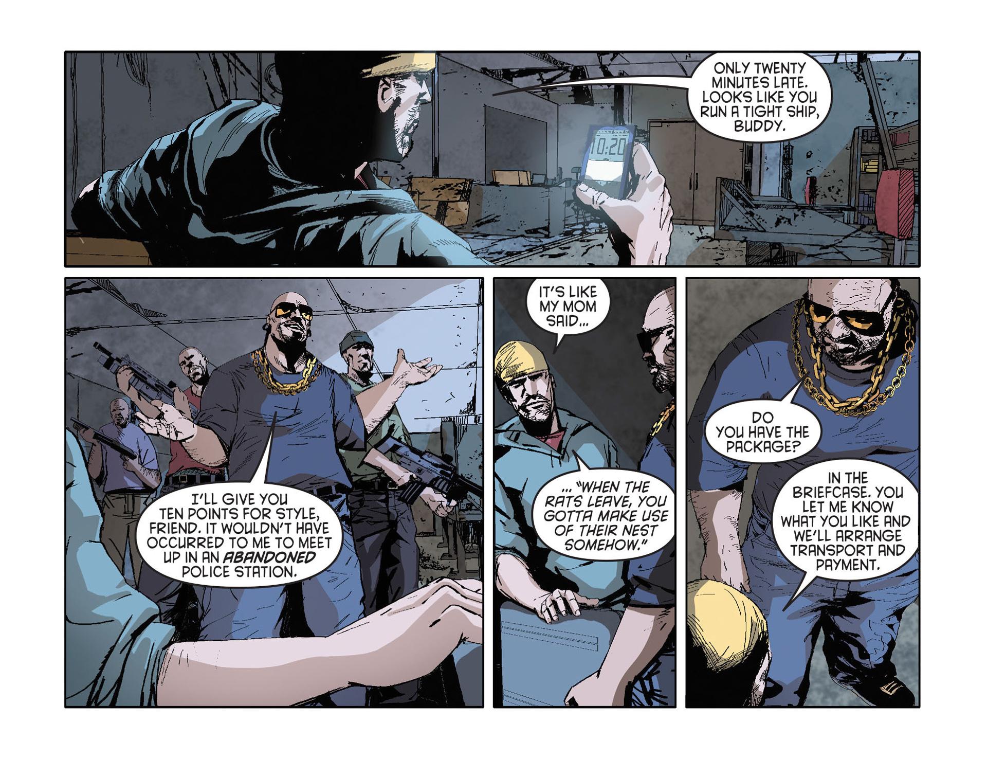 Read online Arrow [II] comic -  Issue #27 - 13