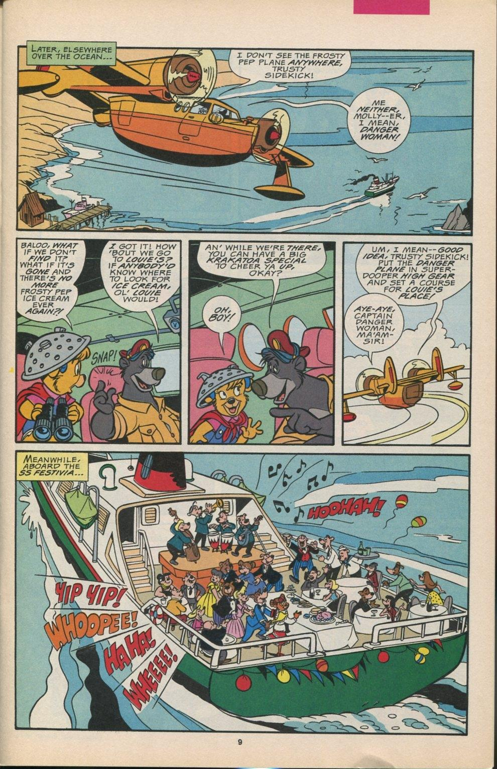 Read online Disney's Tale Spin comic -  Issue #6 - 10