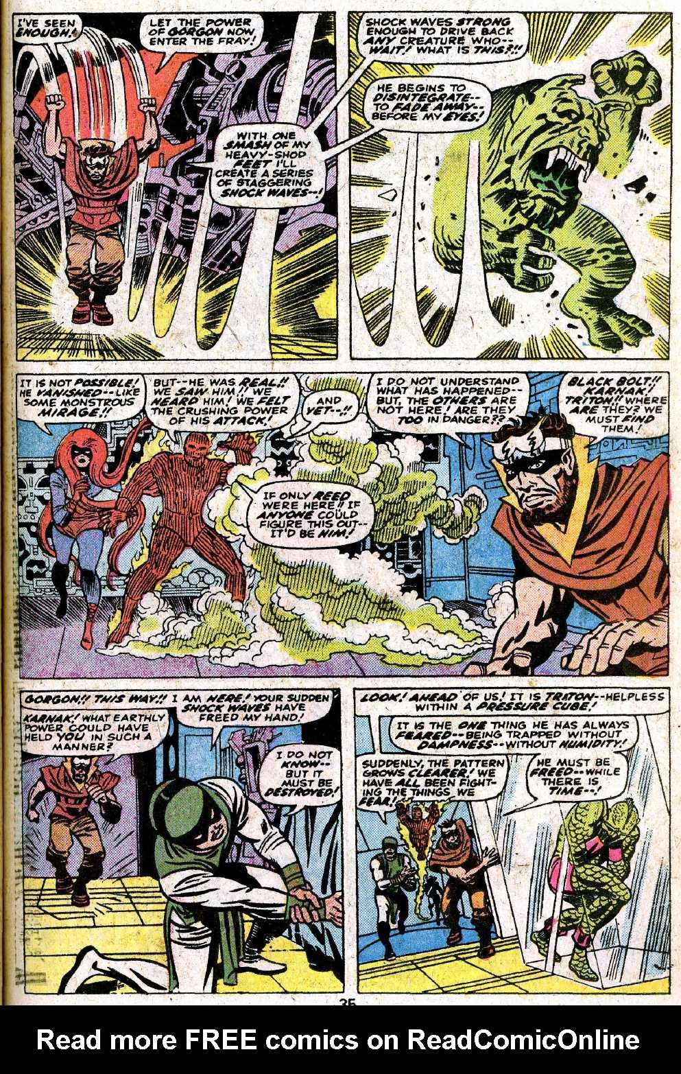 Giant-Size Fantastic Four issue 5 - Page 37