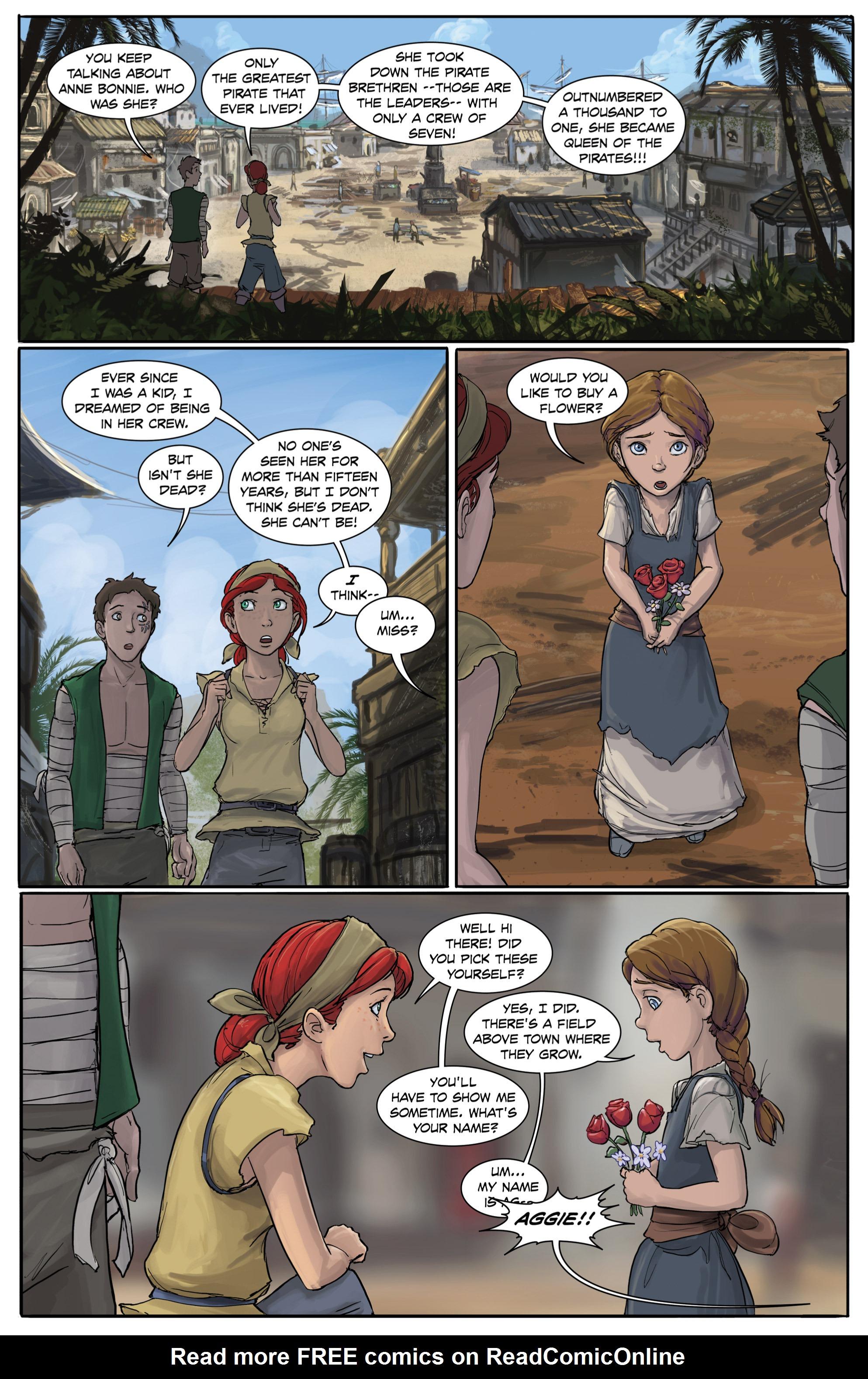 Read online Anne Bonnie comic -  Issue #4 - 16