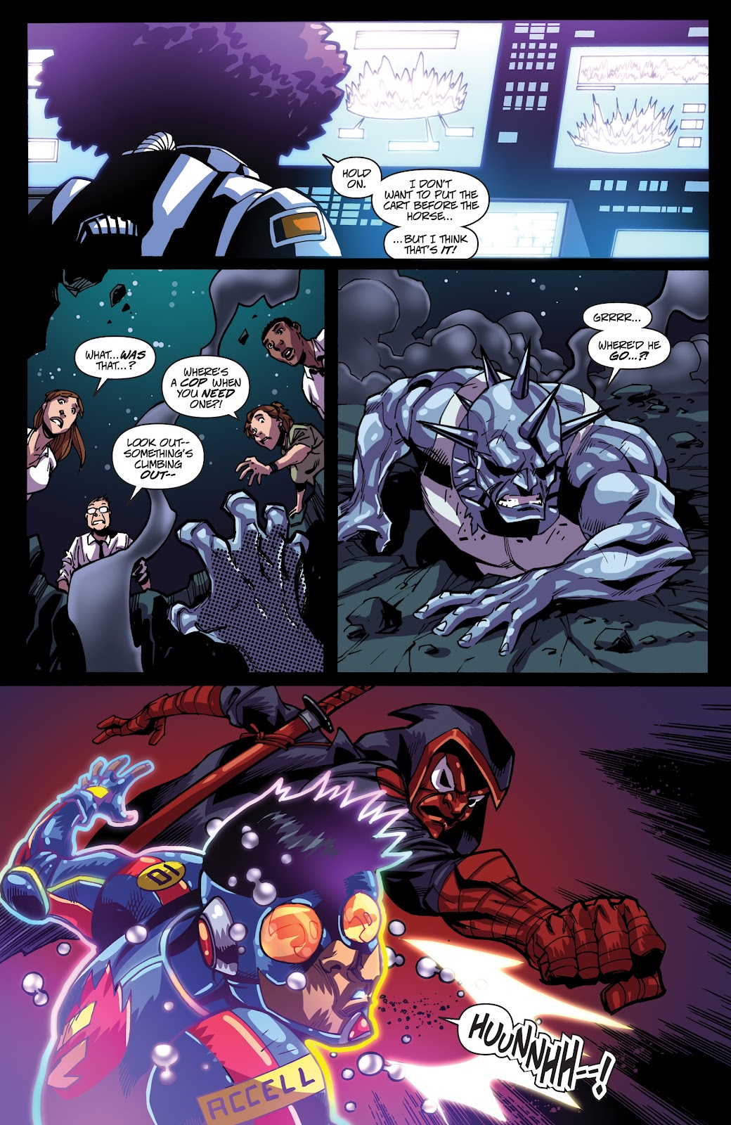 Read online Accell comic -  Issue #19 - 8