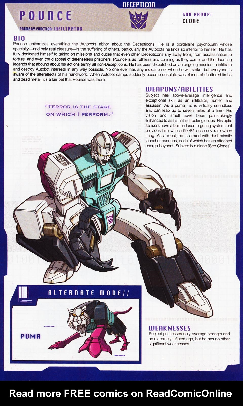 Read online Transformers: More than Meets the Eye comic -  Issue #4 - 42
