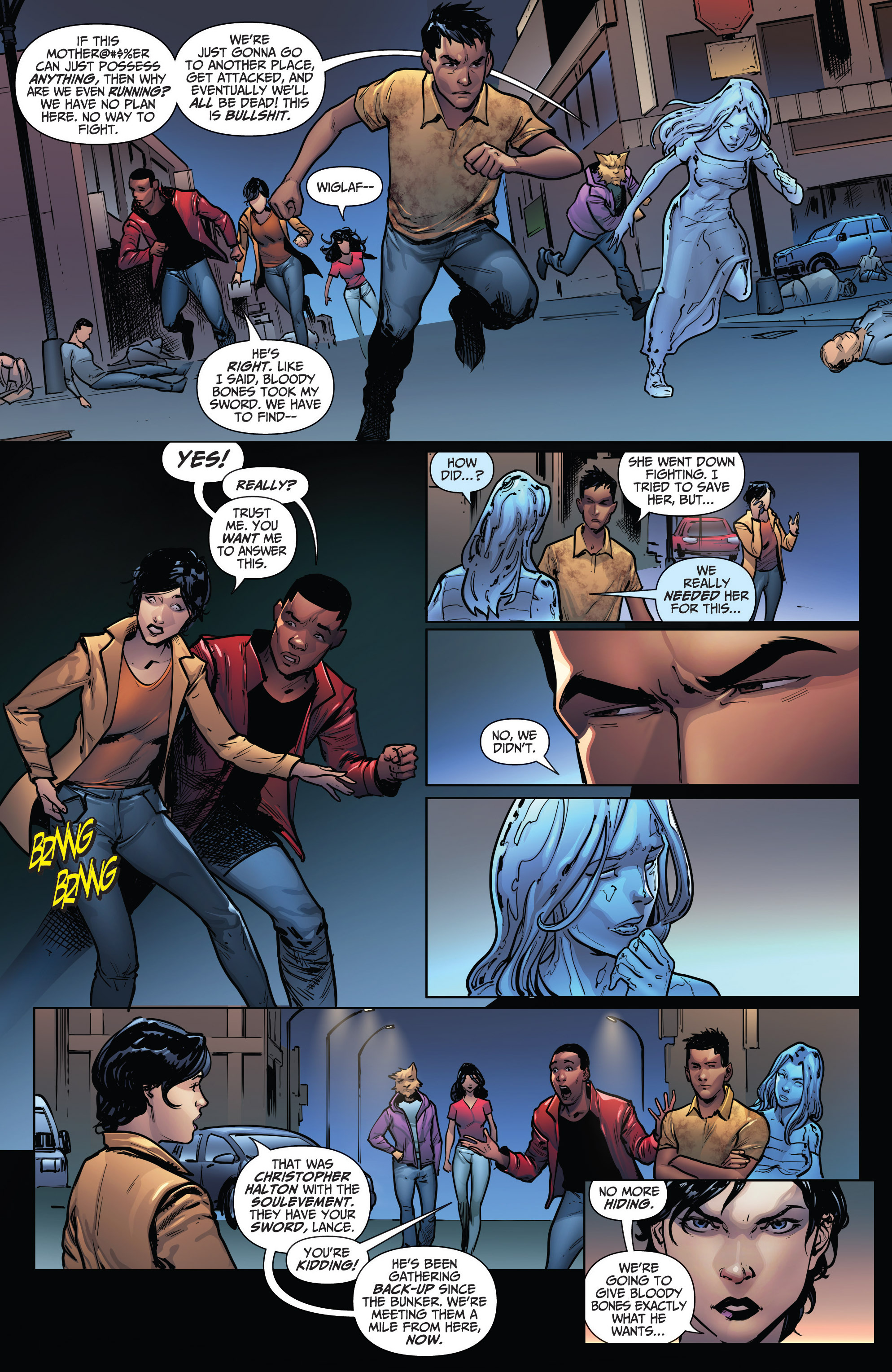 Read online Grimm Fairy Tales: Arcane Acre comic -  Issue # TPB 4 - 148