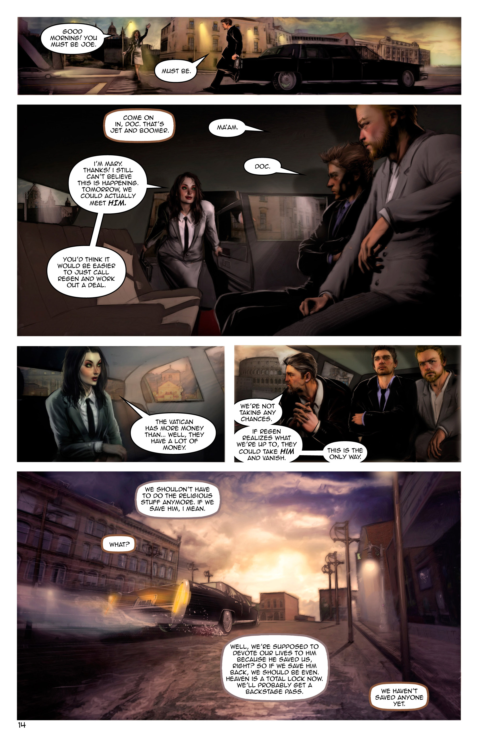 Read online Escape from Jesus Island comic -  Issue #2 - 14