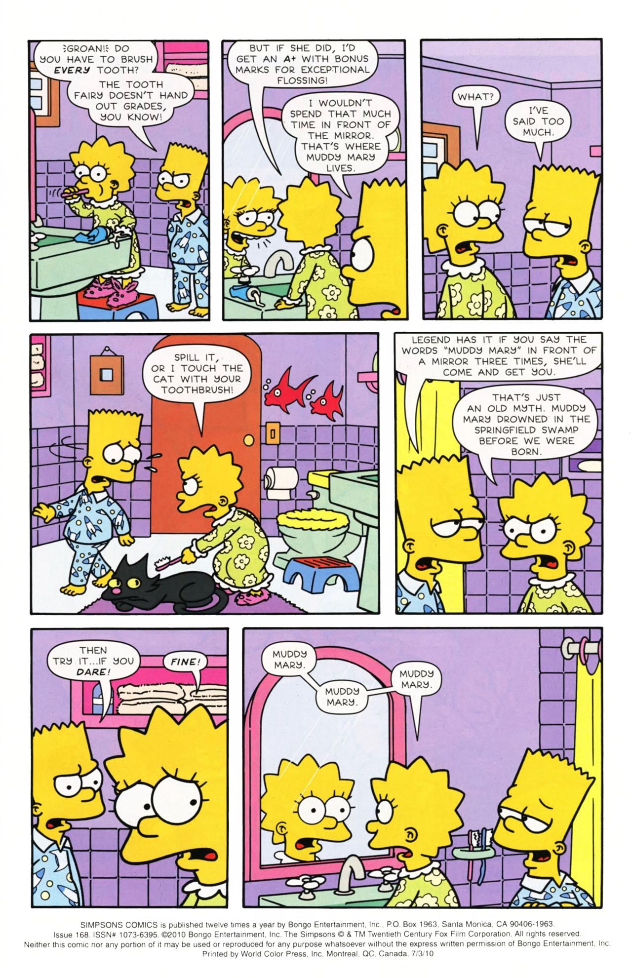 Read online Simpsons Comics comic -  Issue #168 - 2