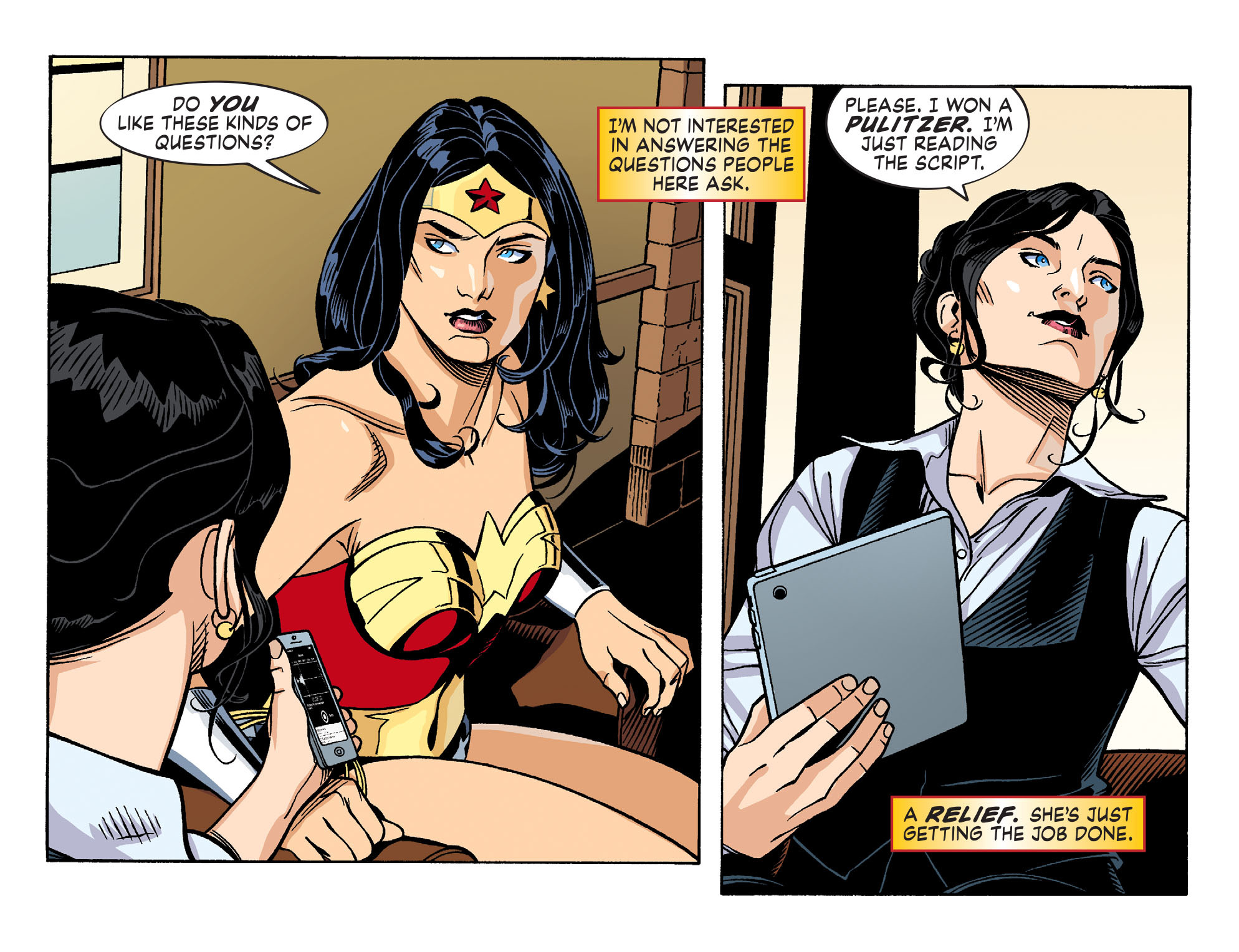 Read online Sensation Comics Featuring Wonder Woman comic -  Issue #26 - 7