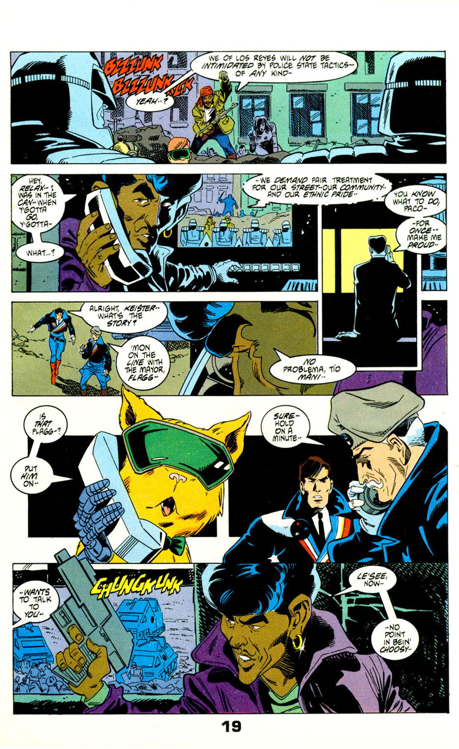 Read online American Flagg! comic -  Issue #29 - 22