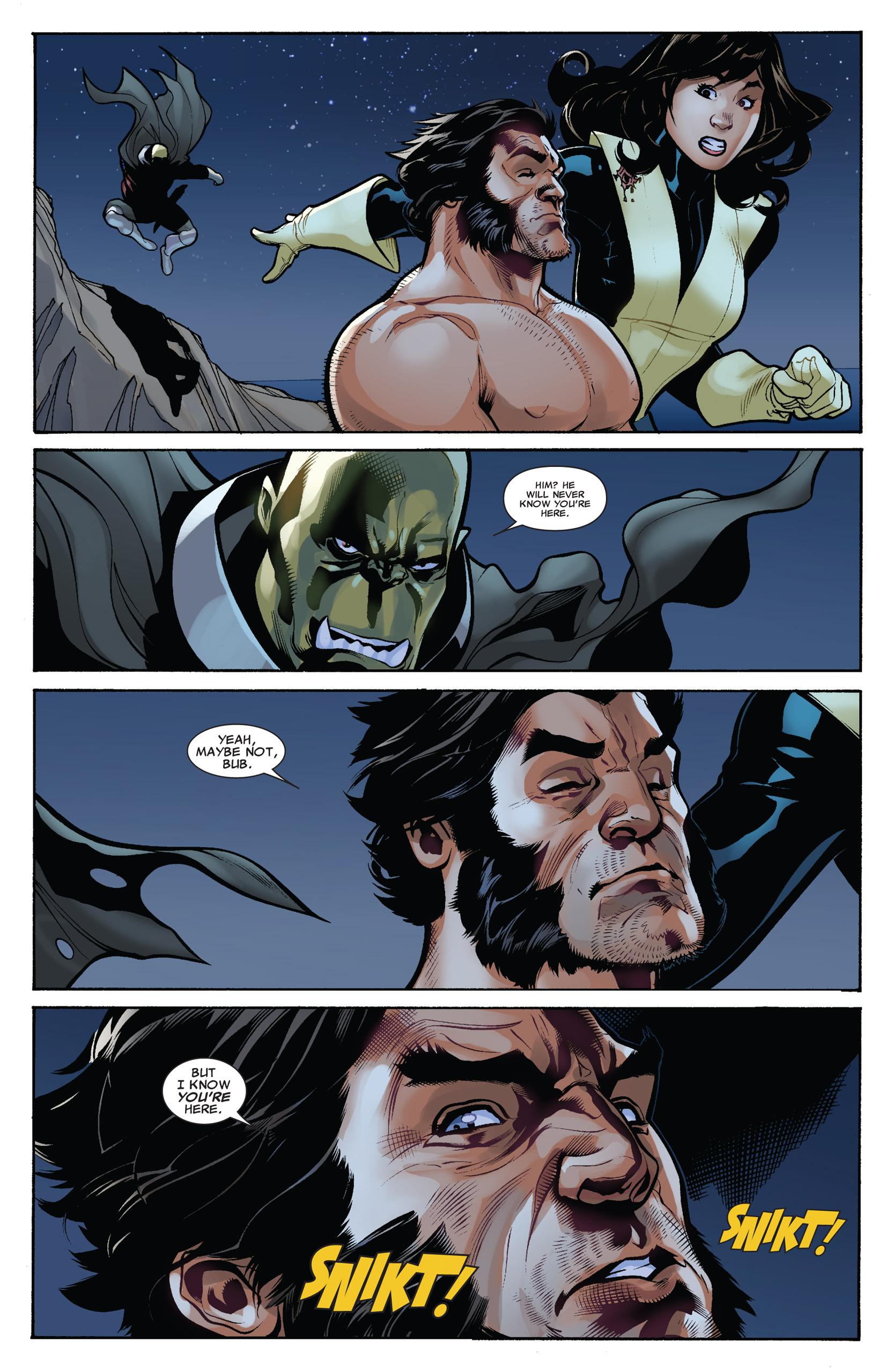 Read online Uncanny X-Men (1963) comic -  Issue #537 - 19