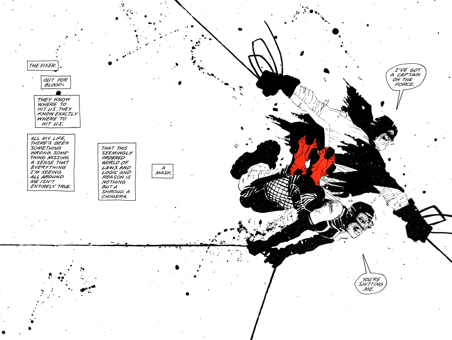 Read online Frank Miller's Holy Terror comic -  Issue # TPB - 69