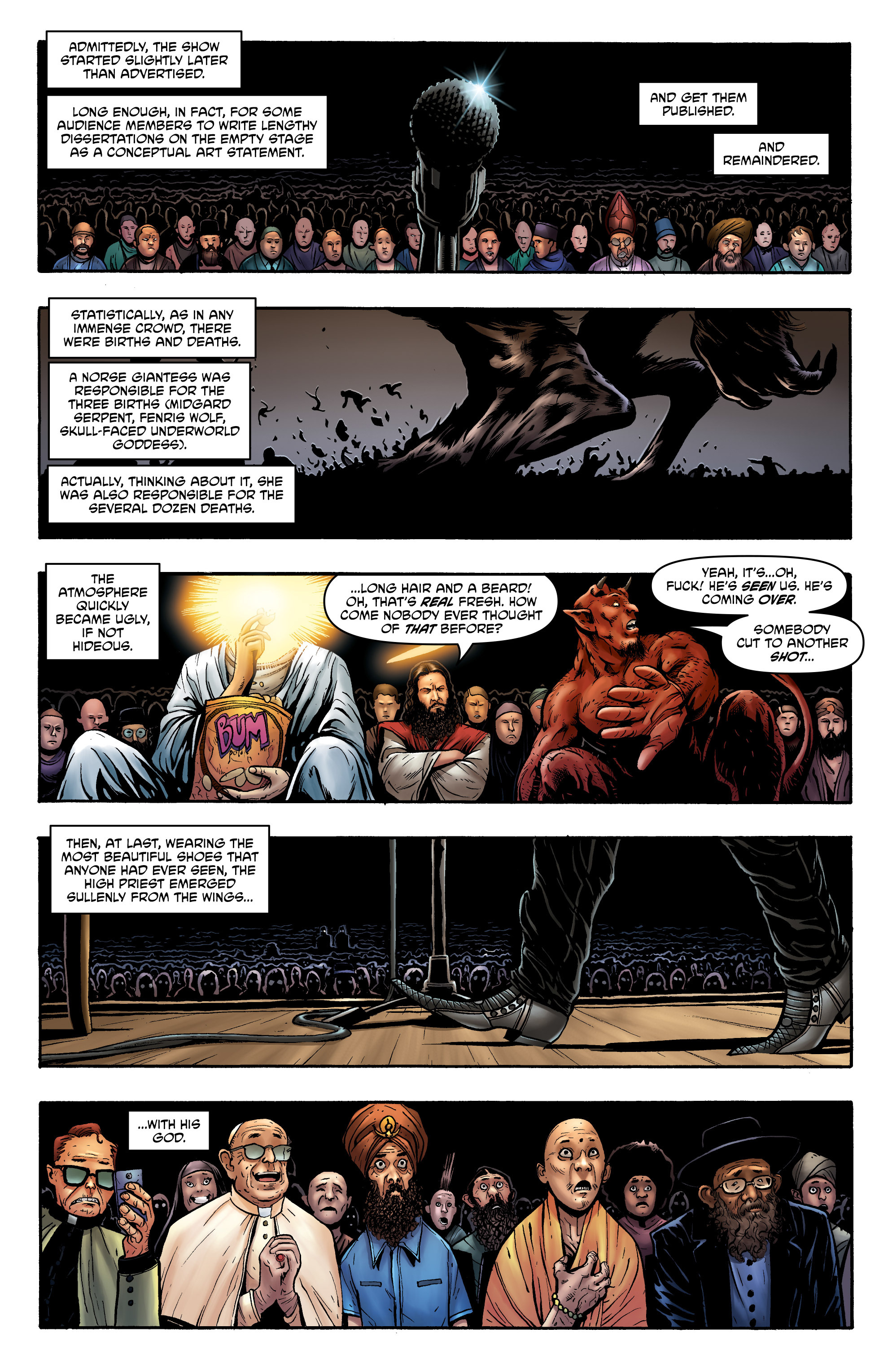 Read online God is Dead: Book of Acts comic -  Issue # Alpha - 31