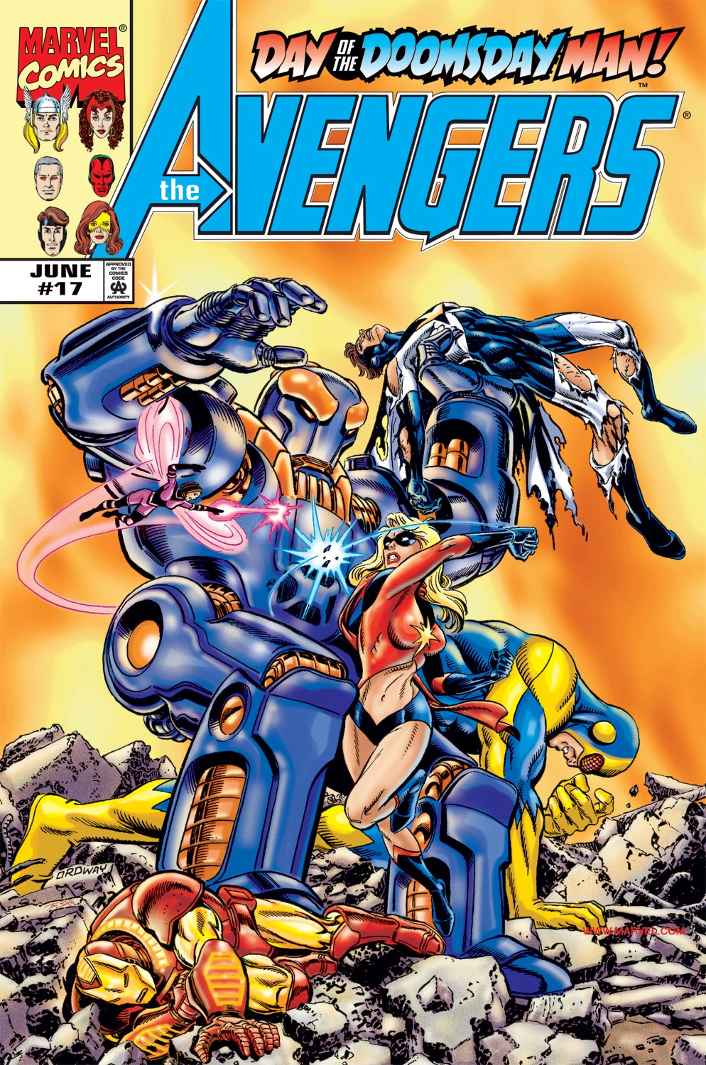 Read online Avengers (1998) comic -  Issue #17 - 1