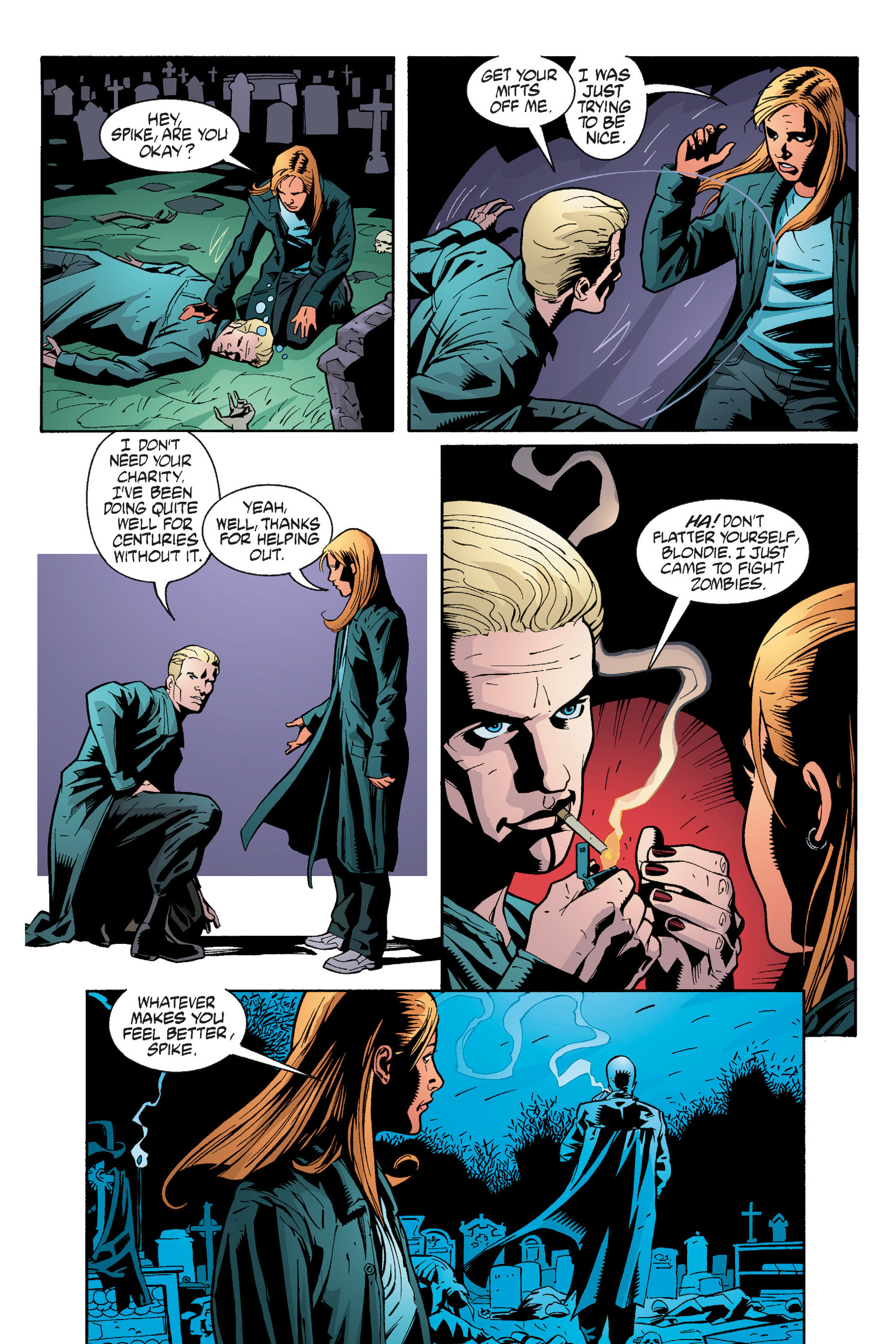 Read online Buffy the Vampire Slayer: Omnibus comic -  Issue # TPB 5 - 297