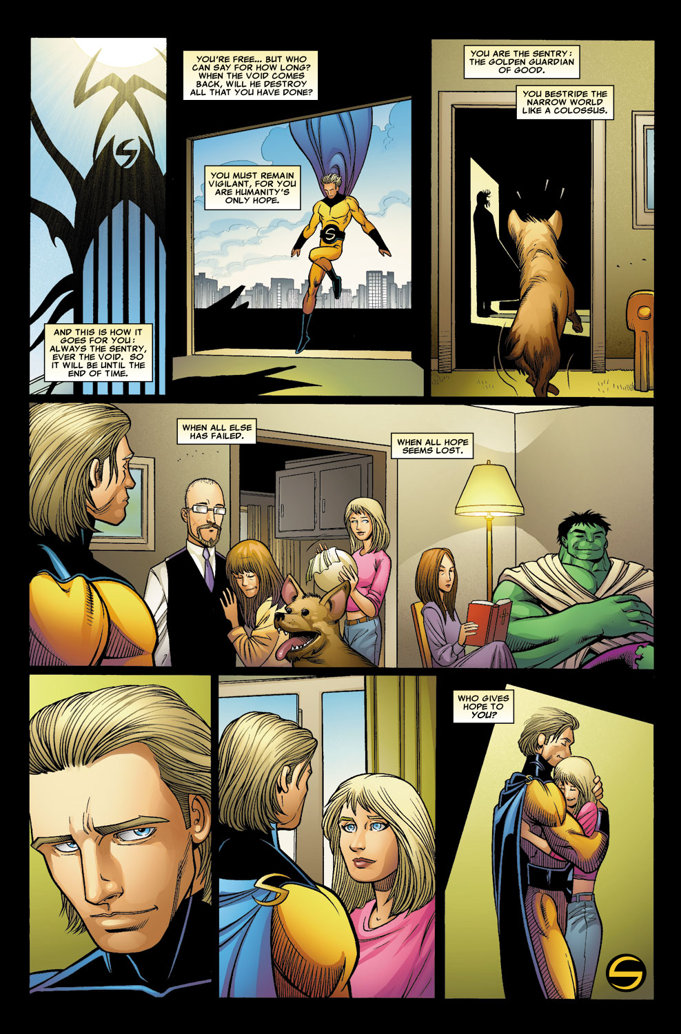 Read online Sentry (2006) comic -  Issue #8 - 24