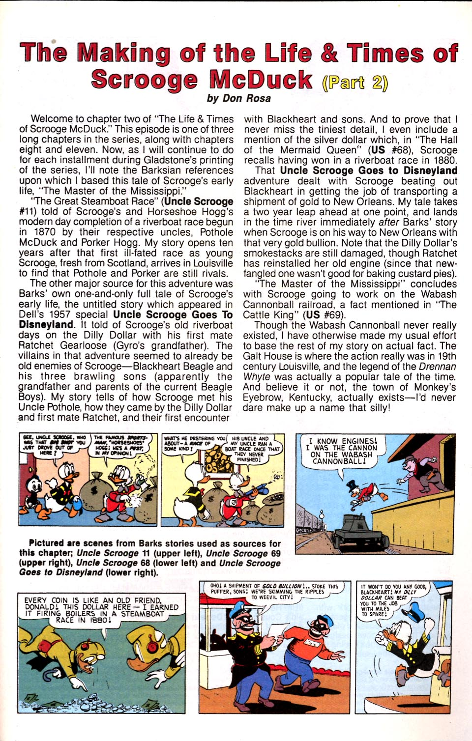 Read online Uncle Scrooge (1953) comic -  Issue #286 - 30