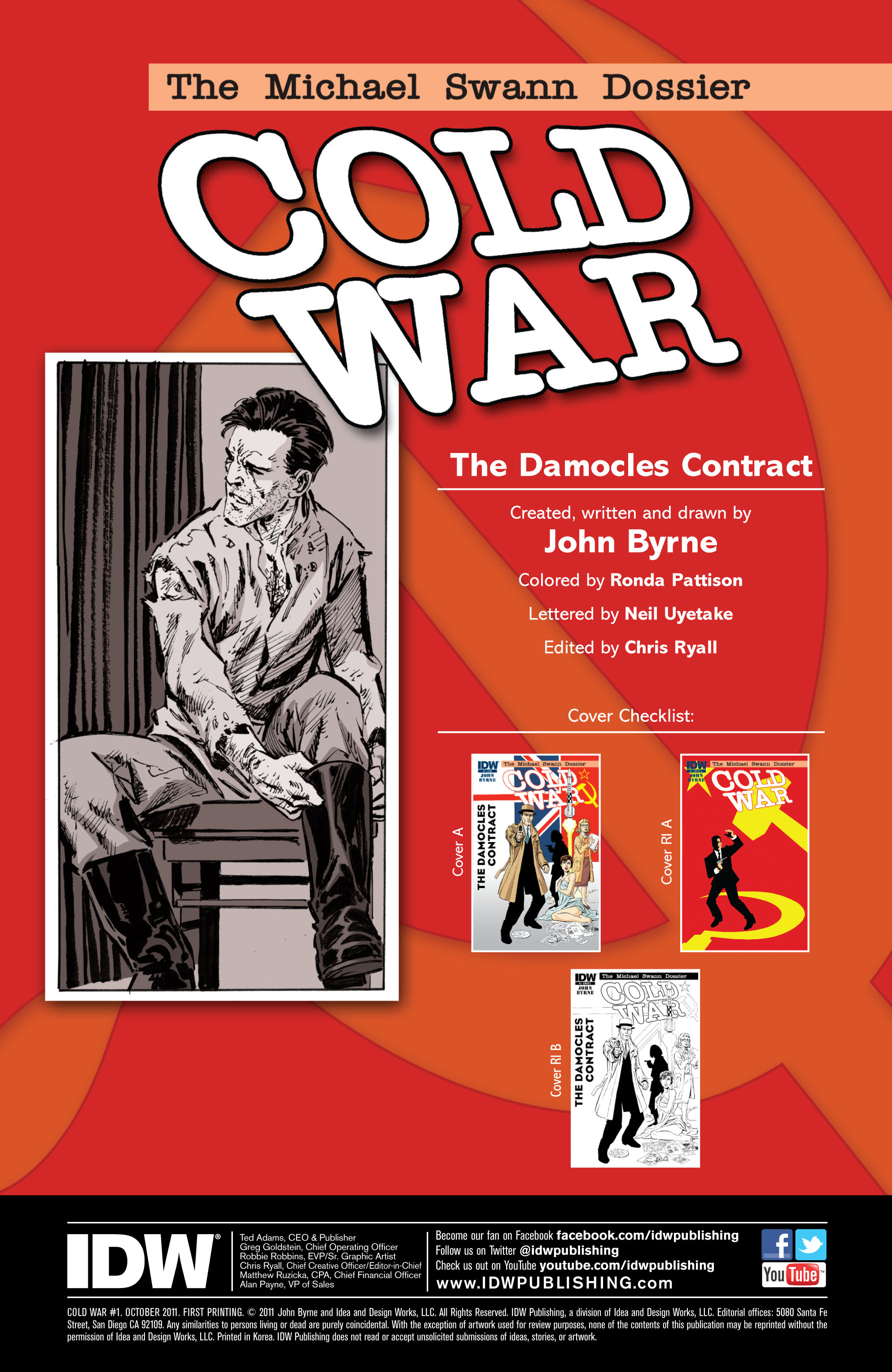 Read online Cold War comic -  Issue # TPB - 8
